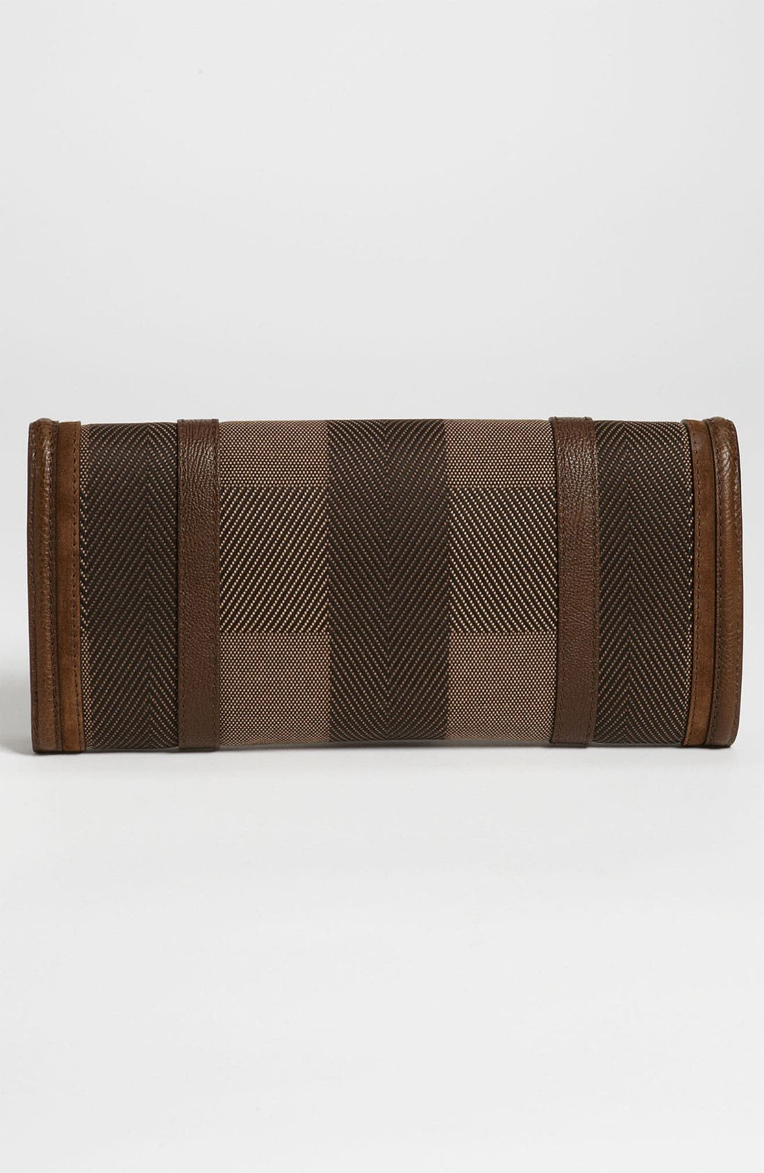 Alternate Image 4  - Burberry Canvas Jacquard Clutch
