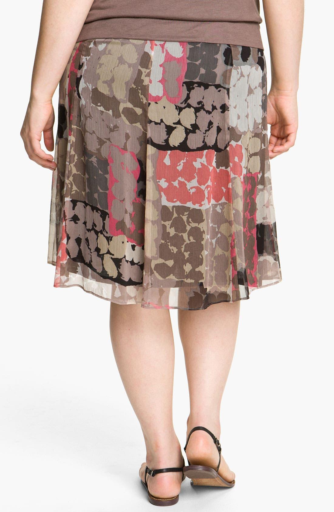 Alternate Image 2  - Nic + Zoe 'Spanish Dot Flirt' Skirt (Plus)