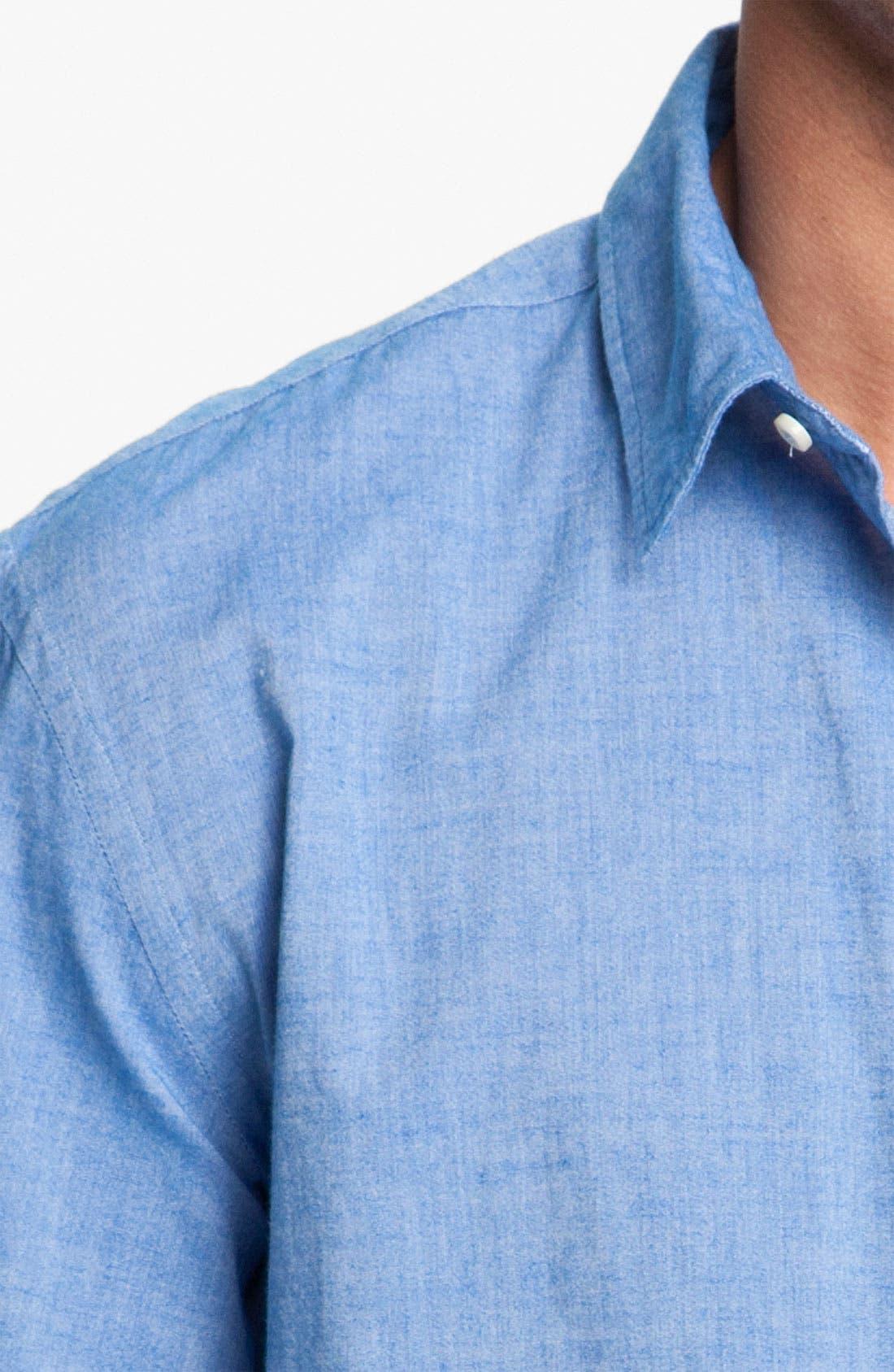 Alternate Image 3  - Mason's Brushed Cotton Shirt