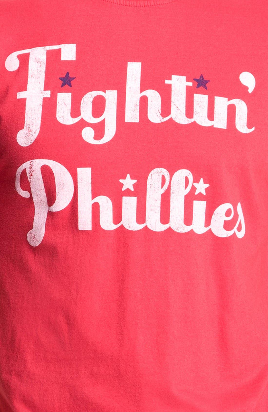Alternate Image 2  - Wright & Ditson 'Philadelphia Phillies' Baseball T-Shirt