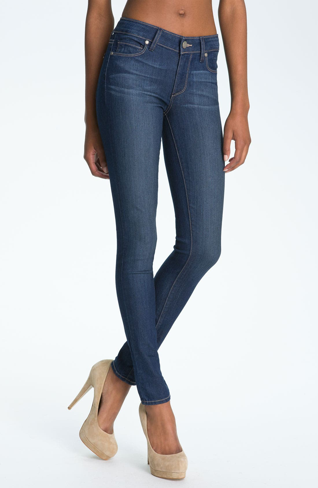 Alternate Image 1 Selected - Paige Denim 'Verdugo' Stretch Denim Leggings (Finley)