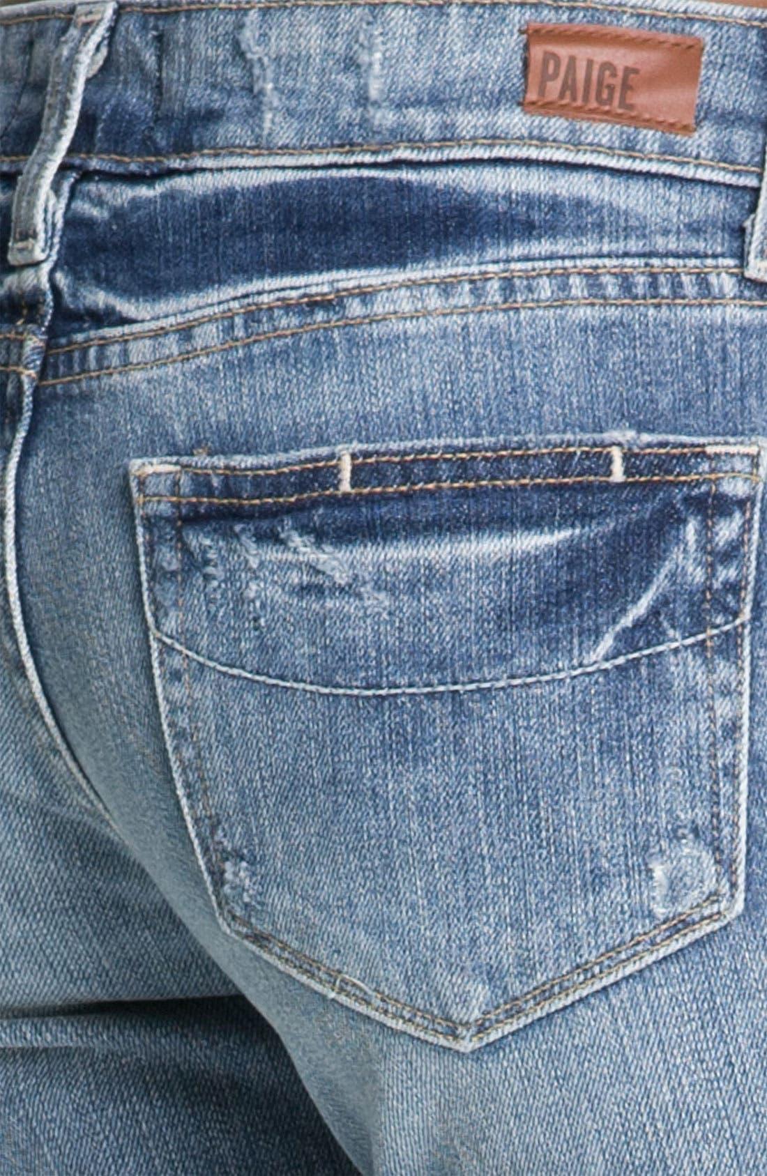 Alternate Image 3  - Paige Denim 'Skyline - Ankle Peg' Skinny Stretch Jeans (Beachwood)