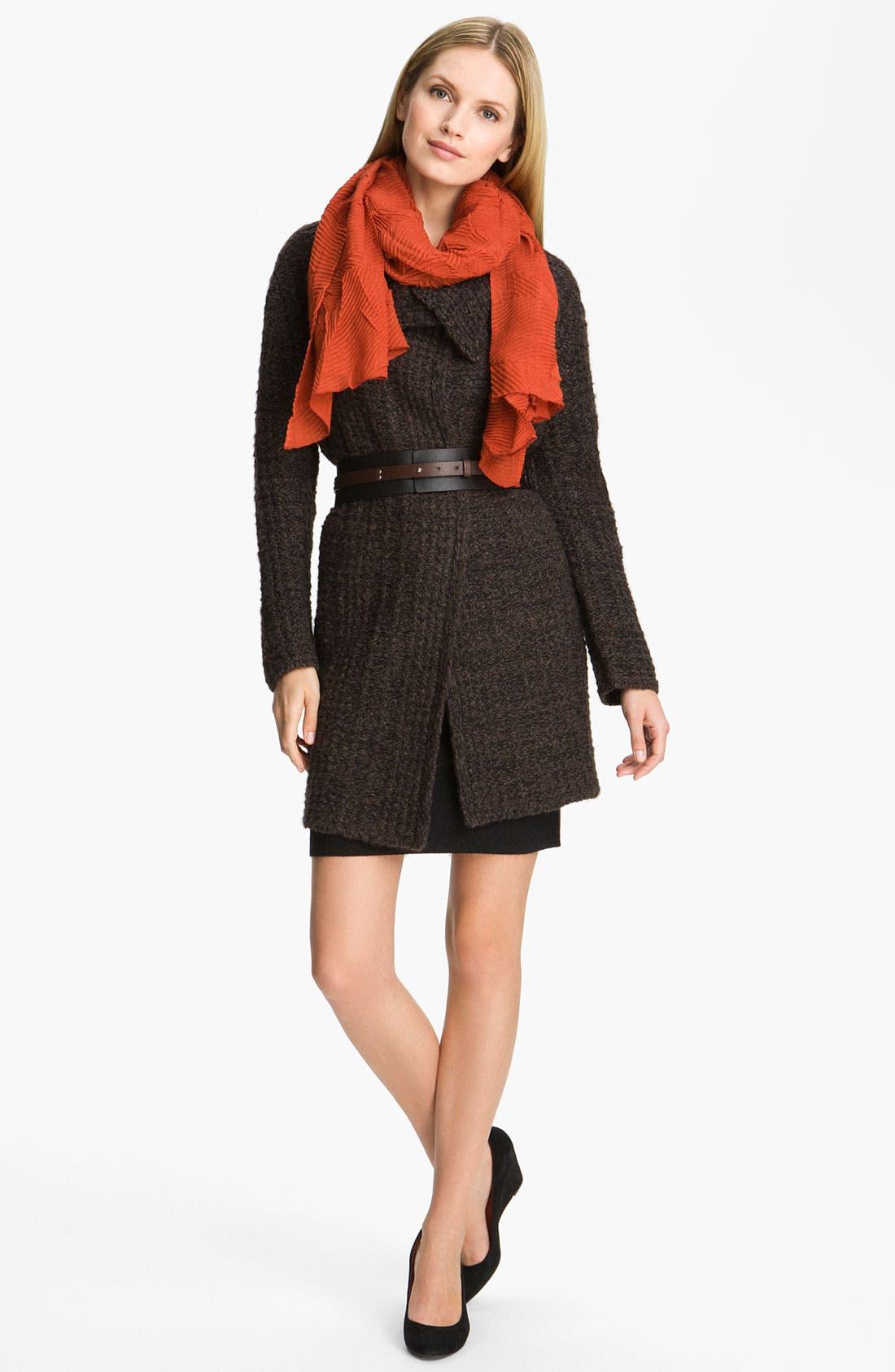Alternate Image 4  - Eileen Fisher Pull-On Wool Blend Skirt