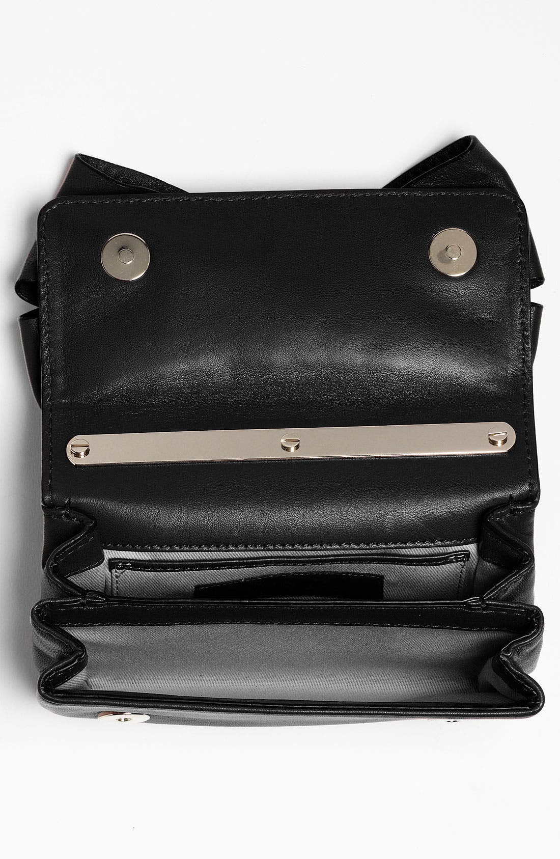Alternate Image 3  - Valentino 'Bow - Mini' Leather Shoulder Bag