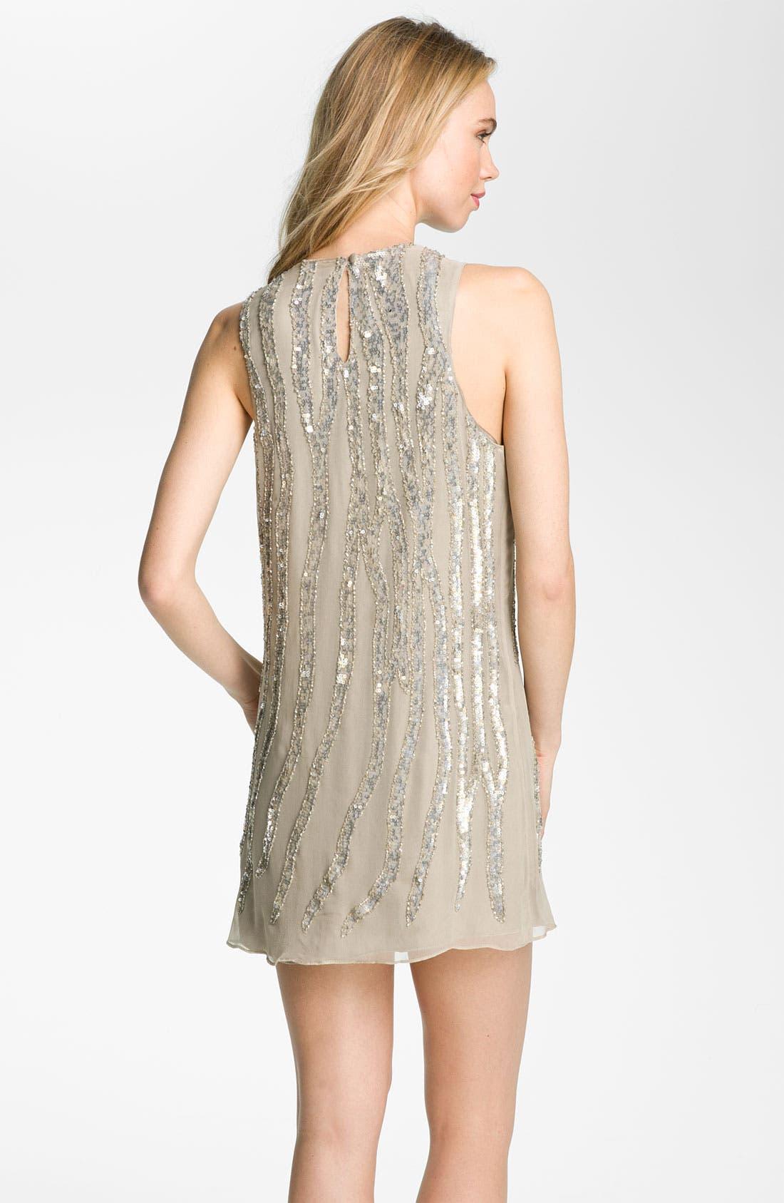 Alternate Image 2  - Parker Embellished Silk Tank Dress