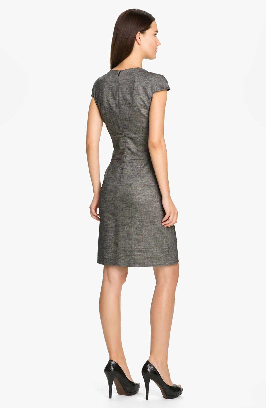 Alternate Image 2  - BOSS Black 'Dillu' V-Neck Sheath Dress