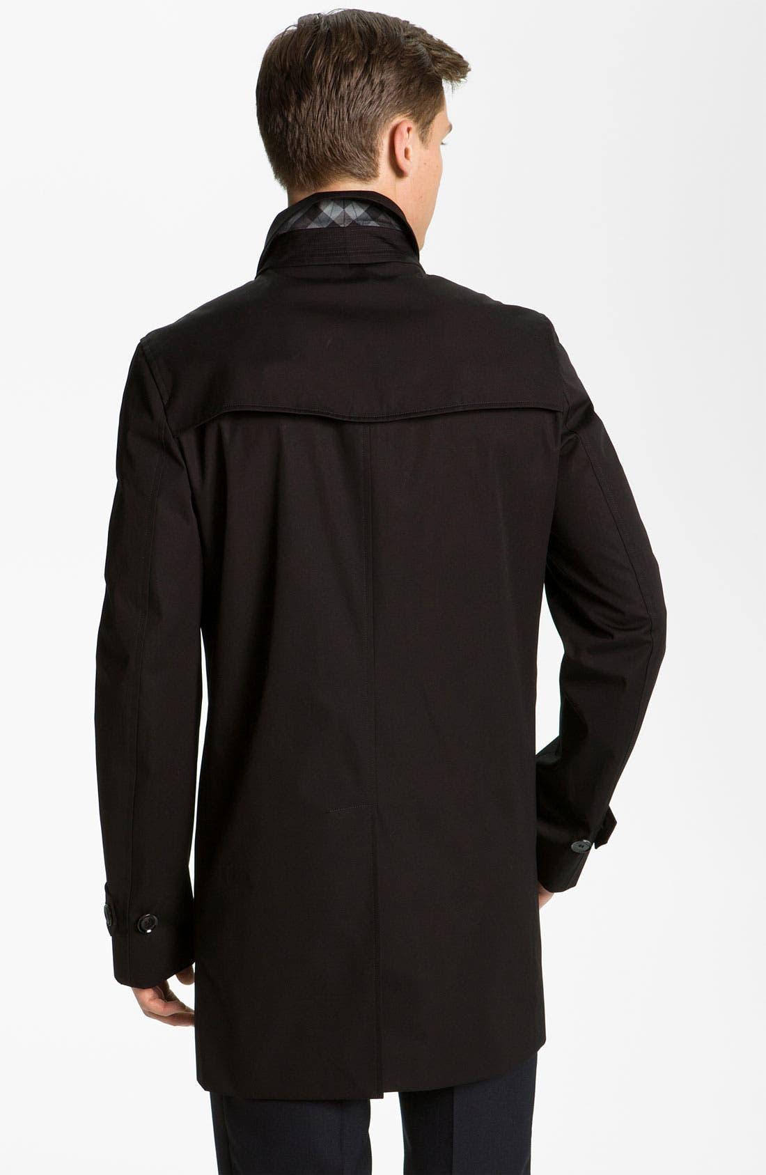 Alternate Image 2  - Burberry London Cotton Jacket