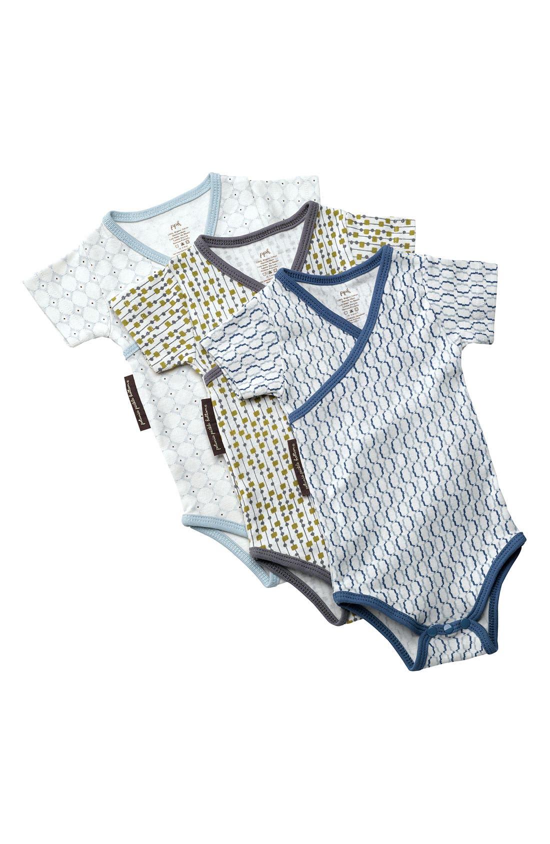 Main Image - Petunia Pickle Bottom Bodysuit (3-Pack) (Baby)