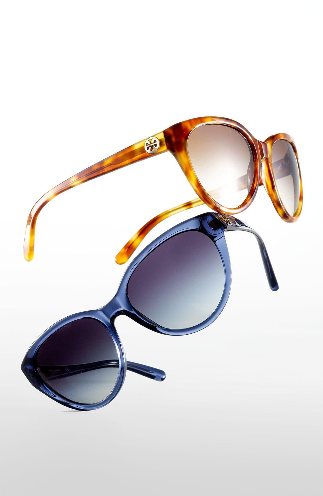Alternate Image 2  - Tory Burch 57mm Retro Sunglasses
