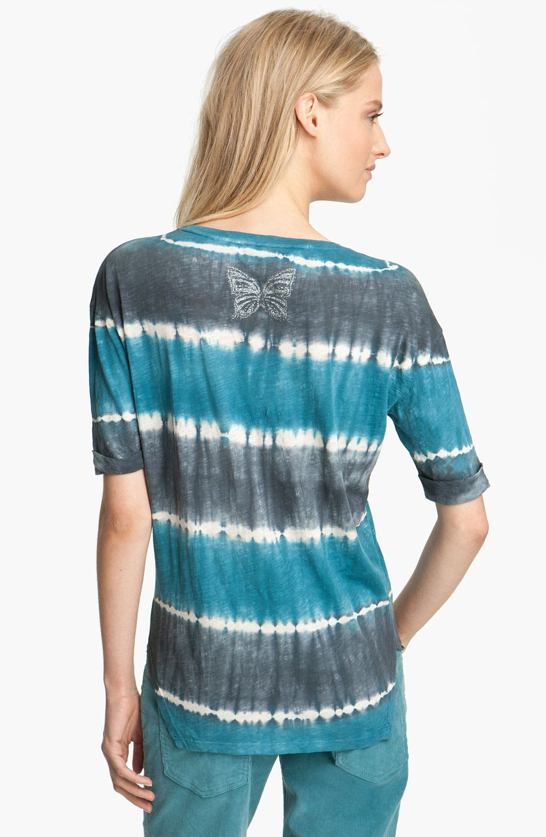 Alternate Image 2  - Zadig & Voltaire 'Axley' Tie Dye Stripe Tee