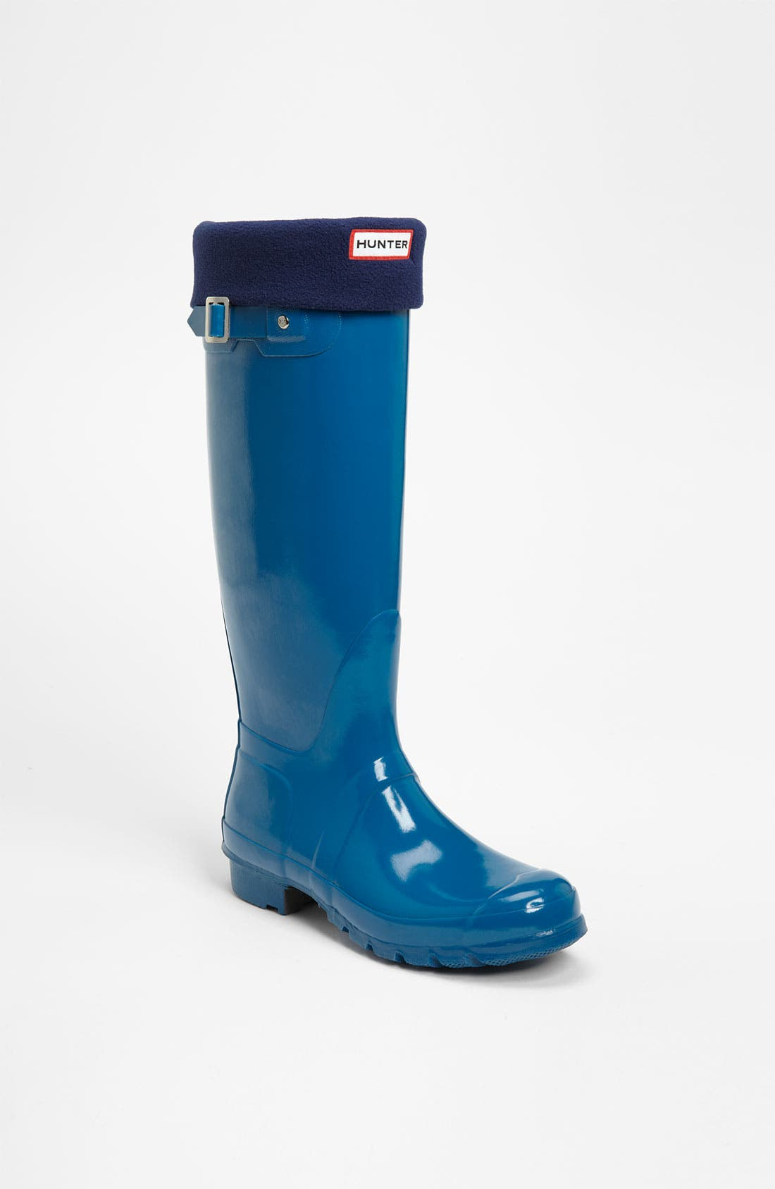 Main Image - Hunter Tall Gloss Rain Boot & Welly Socks