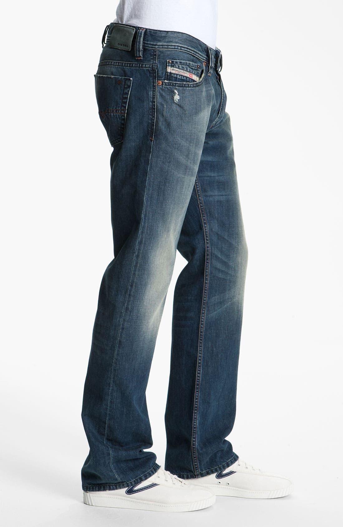 Alternate Image 3  - DIESEL® 'Viker' Straight Leg Jeans (0803F)