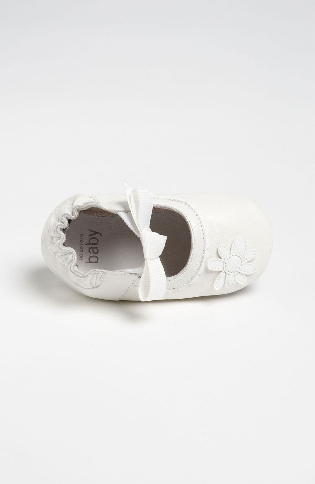 Alternate Image 3  - Nordstrom Baby 'Daisy' Crib Shoe (Infant)