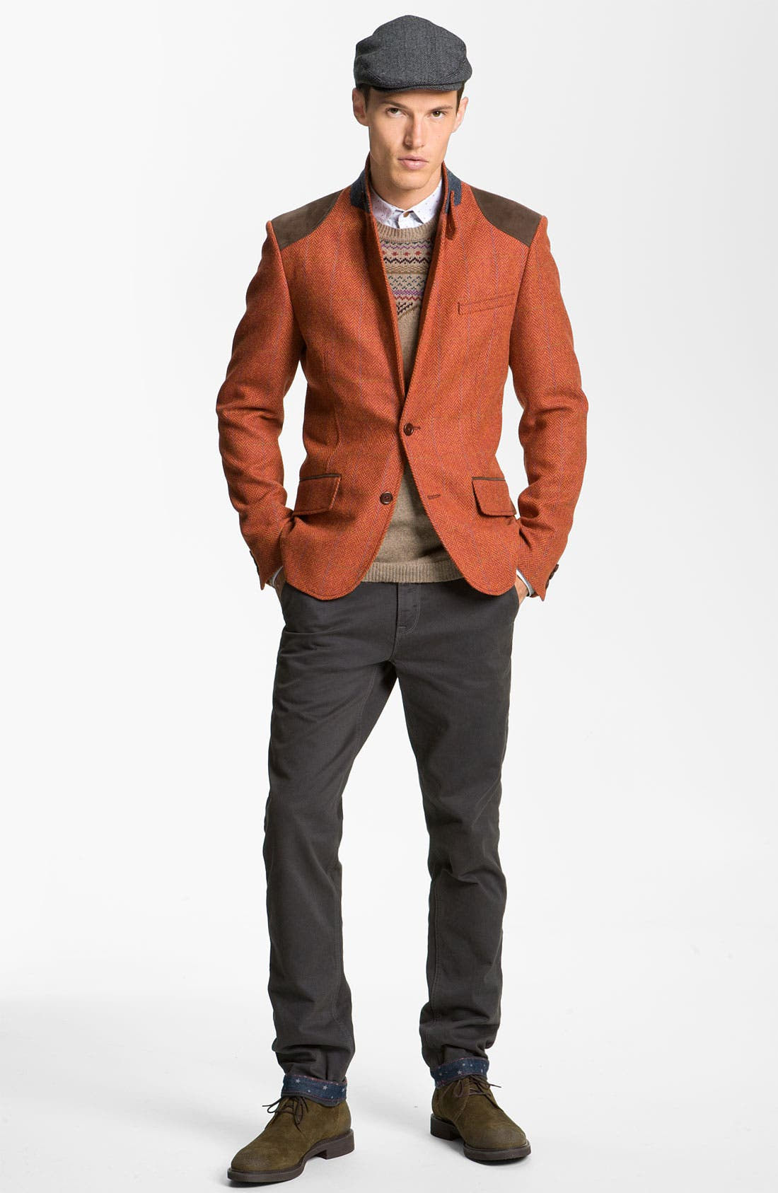 Alternate Image 4  - Ted Baker London 'Lucchin' Slim Fit Chinos