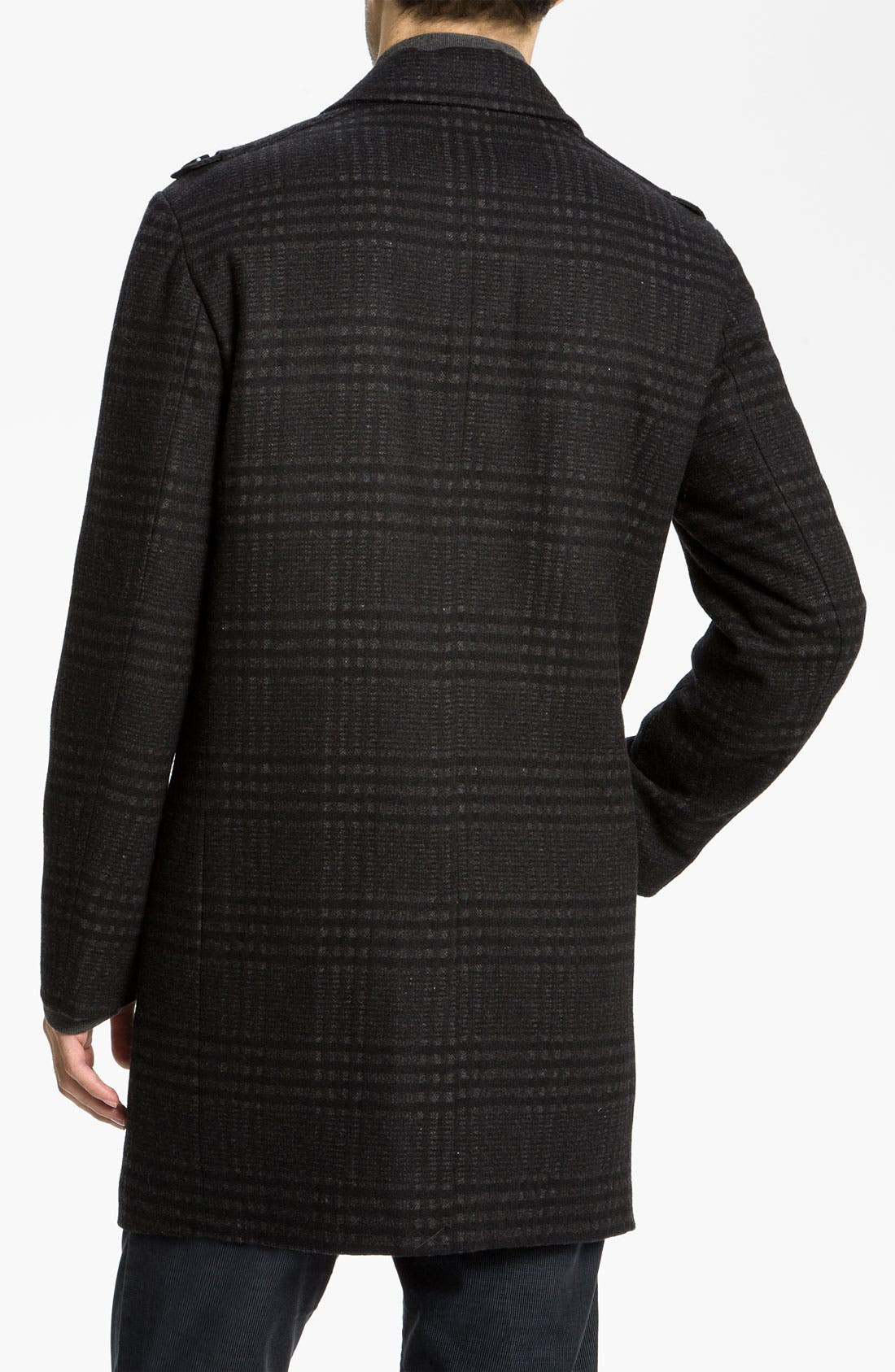 Alternate Image 2  - Kenneth Cole New York Wool Blend Overcoat