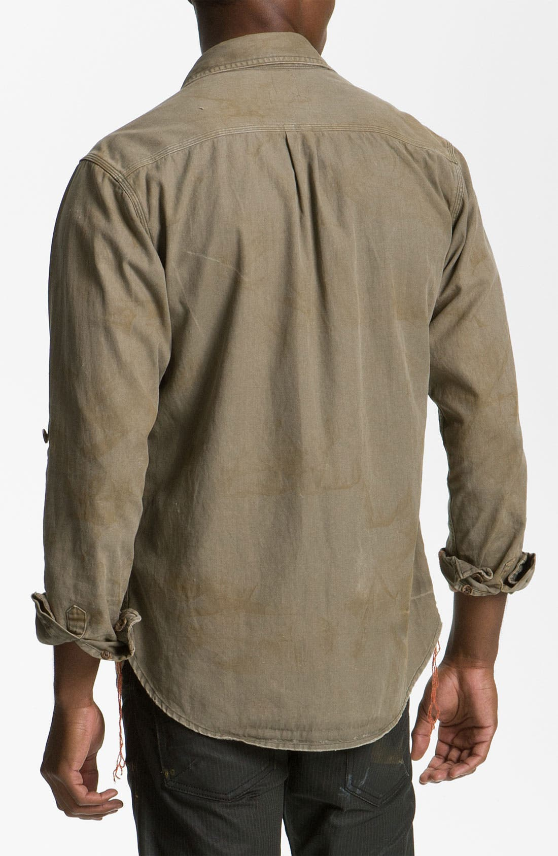 Alternate Image 2  - PRPS Woven Utility Shirt