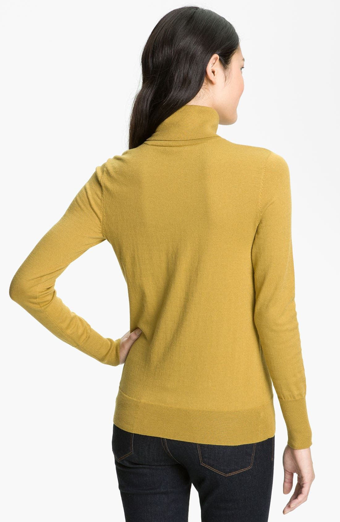 Alternate Image 2  - Halogen® Turtleneck Sweater