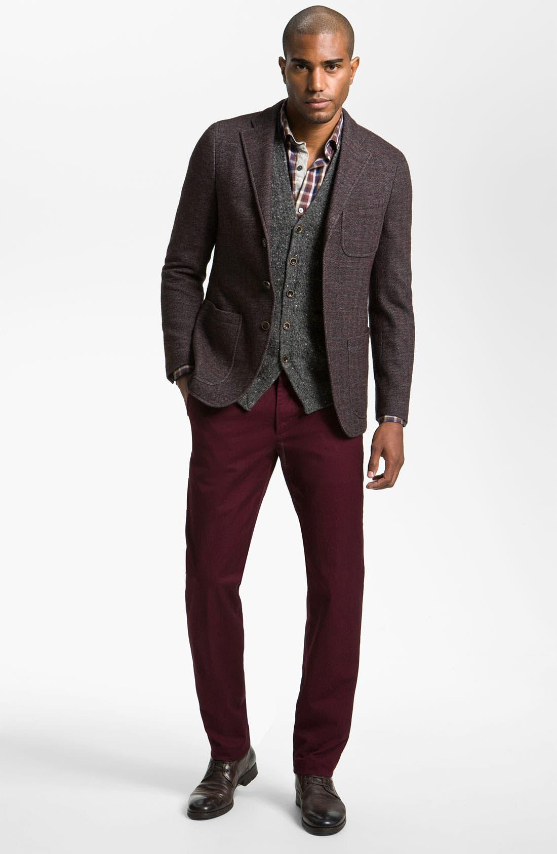 Alternate Image 4  - Hickey Freeman 'Donegal' Merino Blend Sweater Vest
