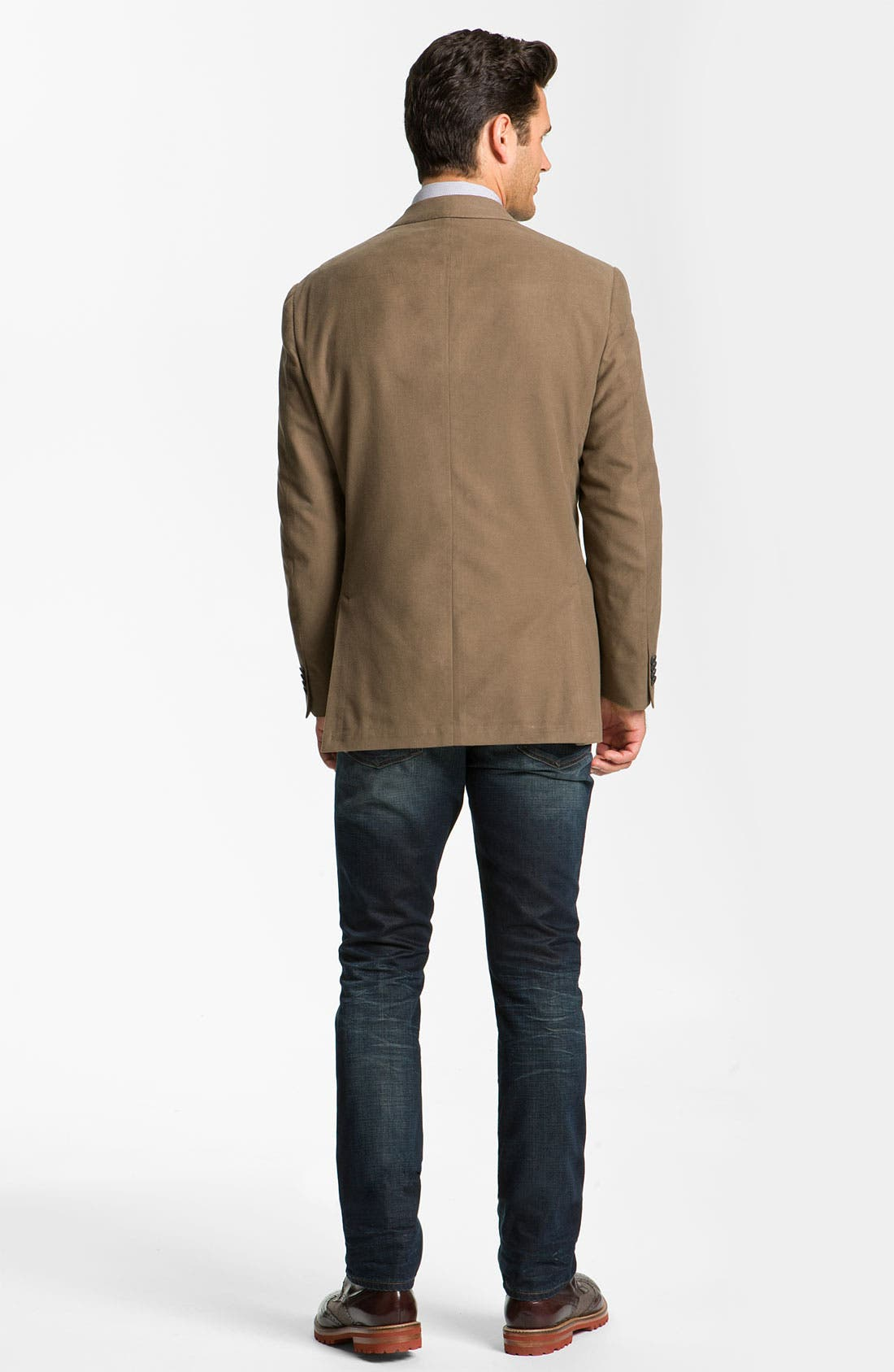 Alternate Image 5  - Hart Schaffner Marx Cotton Blazer