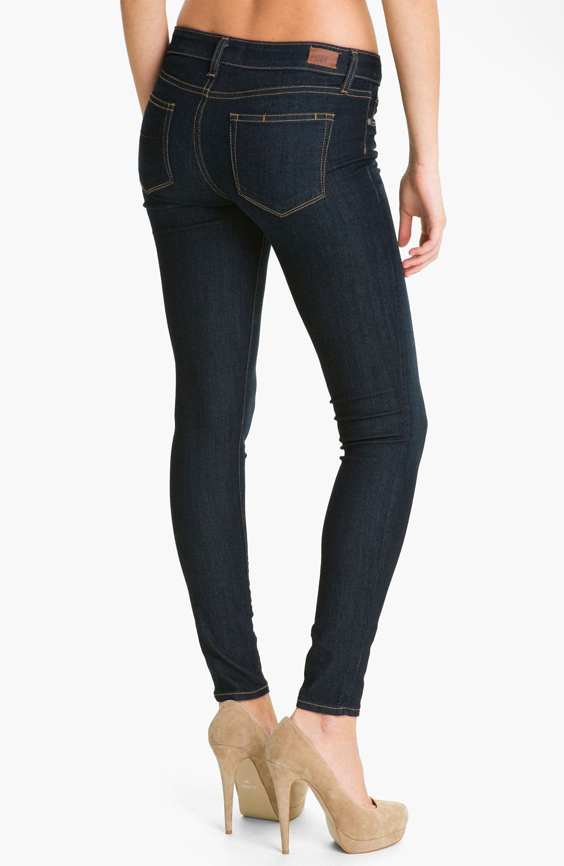 Alternate Image 2  - Paige Denim 'Verdugo' Stretch Skinny Jeans (Stream)