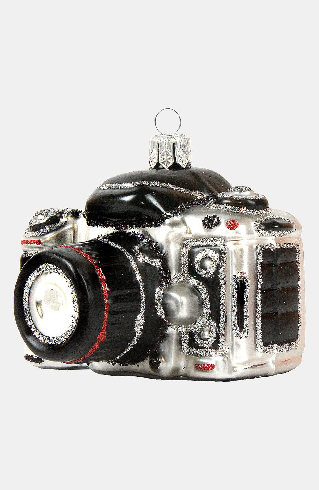 Alternate Image 1 Selected - Nordstrom at Home 'Travel Camera' Glass Ornament