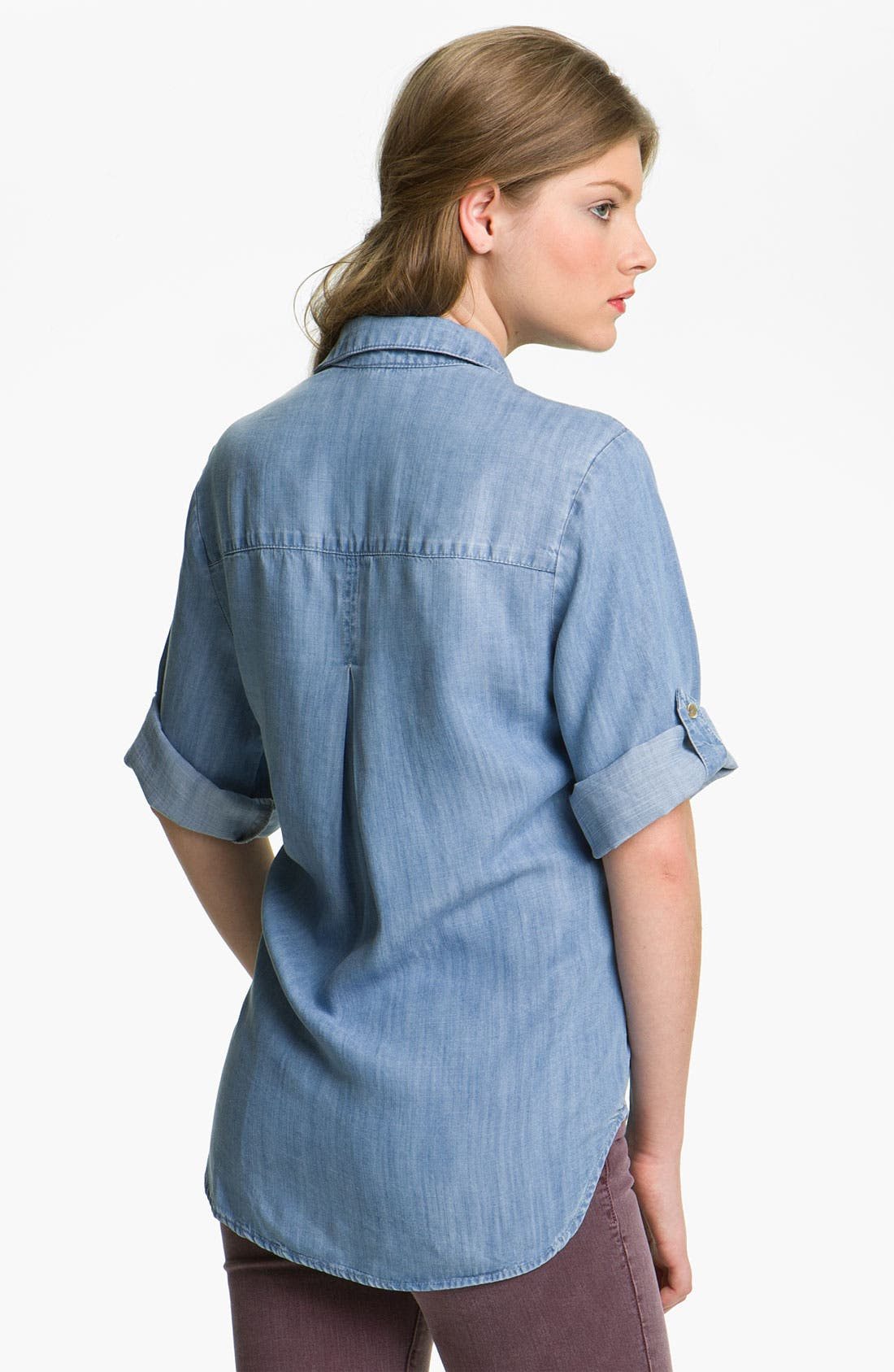 Alternate Image 2  - Bella Dahl Chambray Shirt