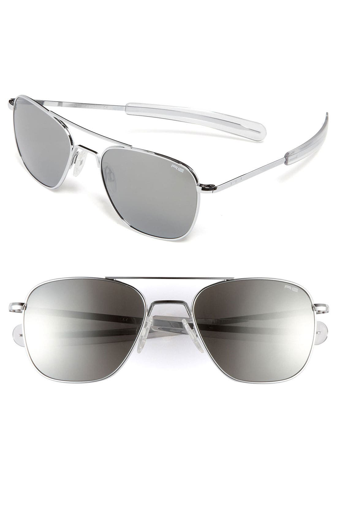 Alternate Image 1 Selected - Randolph Engineering 55mm Aviator Sunglasses