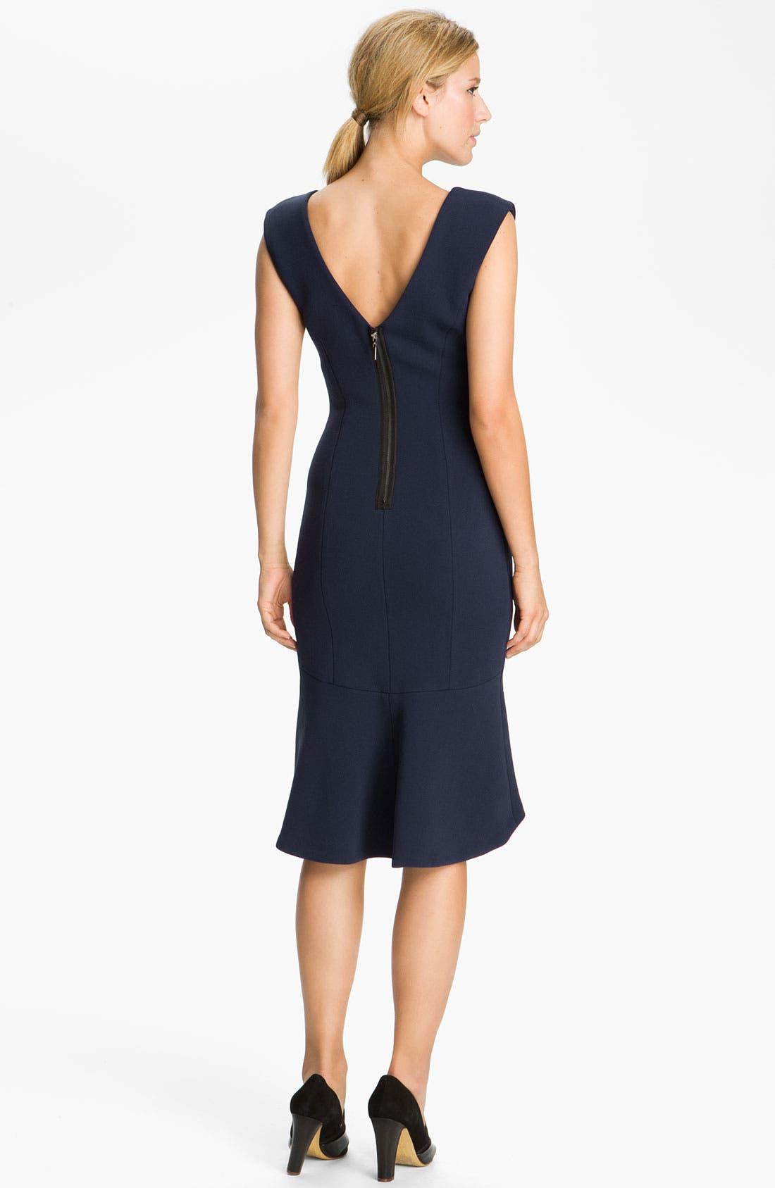 Alternate Image 2  - Tracy Reese 'Neoprene' Ponte Knit Dress