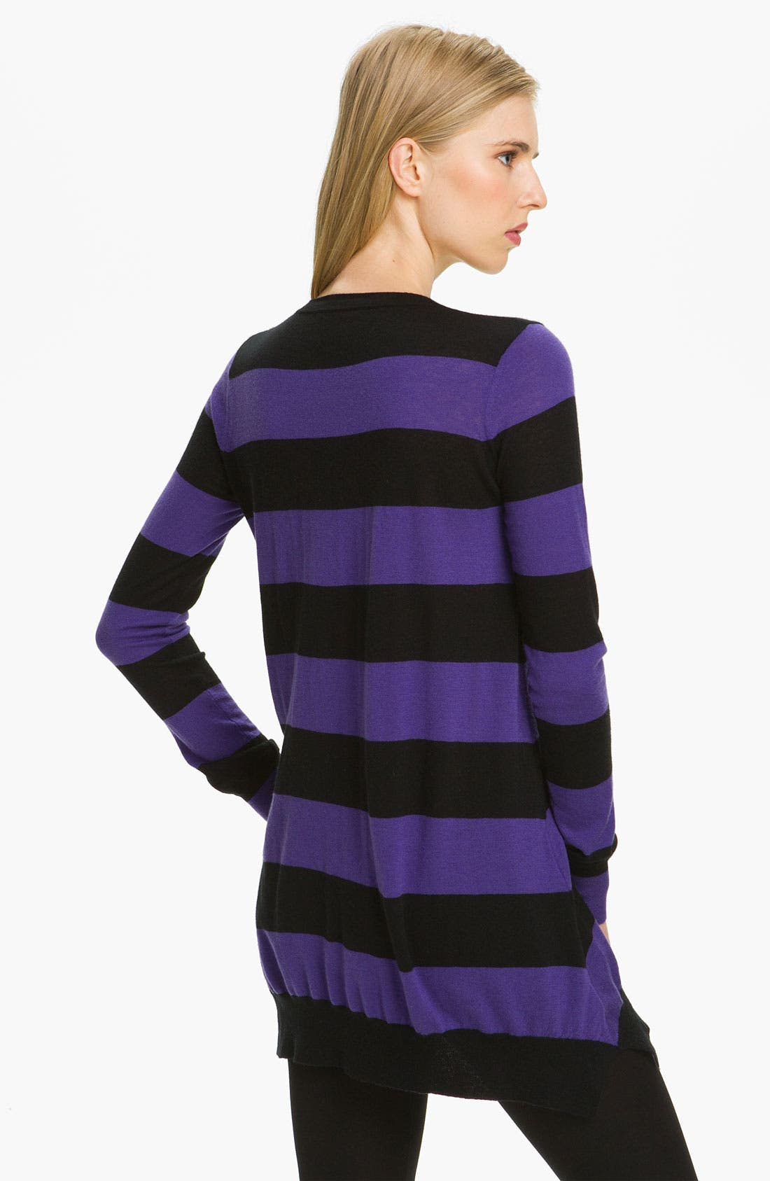Alternate Image 2  - autumn cashmere Stripe Cashmere Tunic