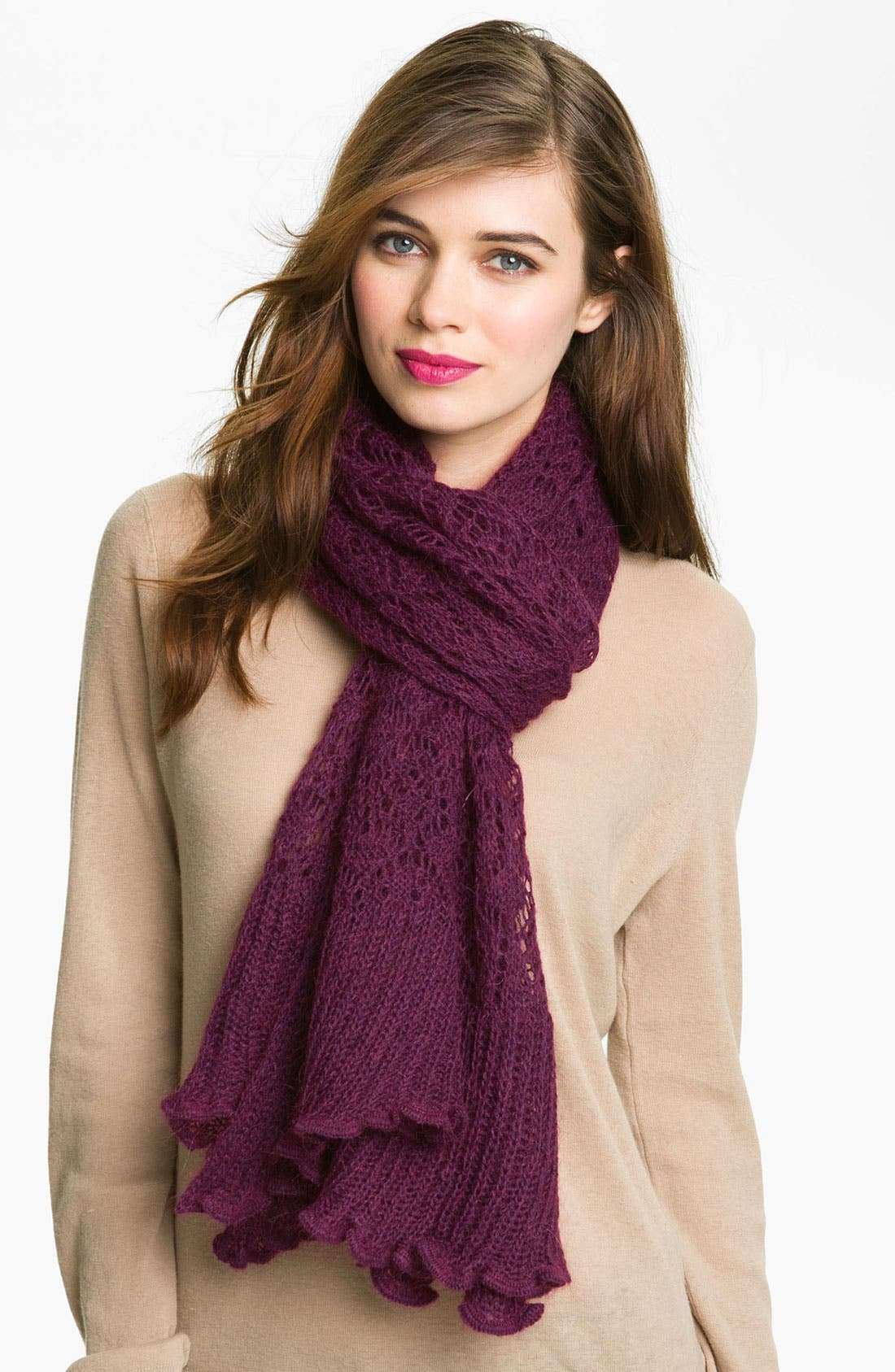 Alternate Image 1 Selected - Hinge® 'Lacey' Scarf