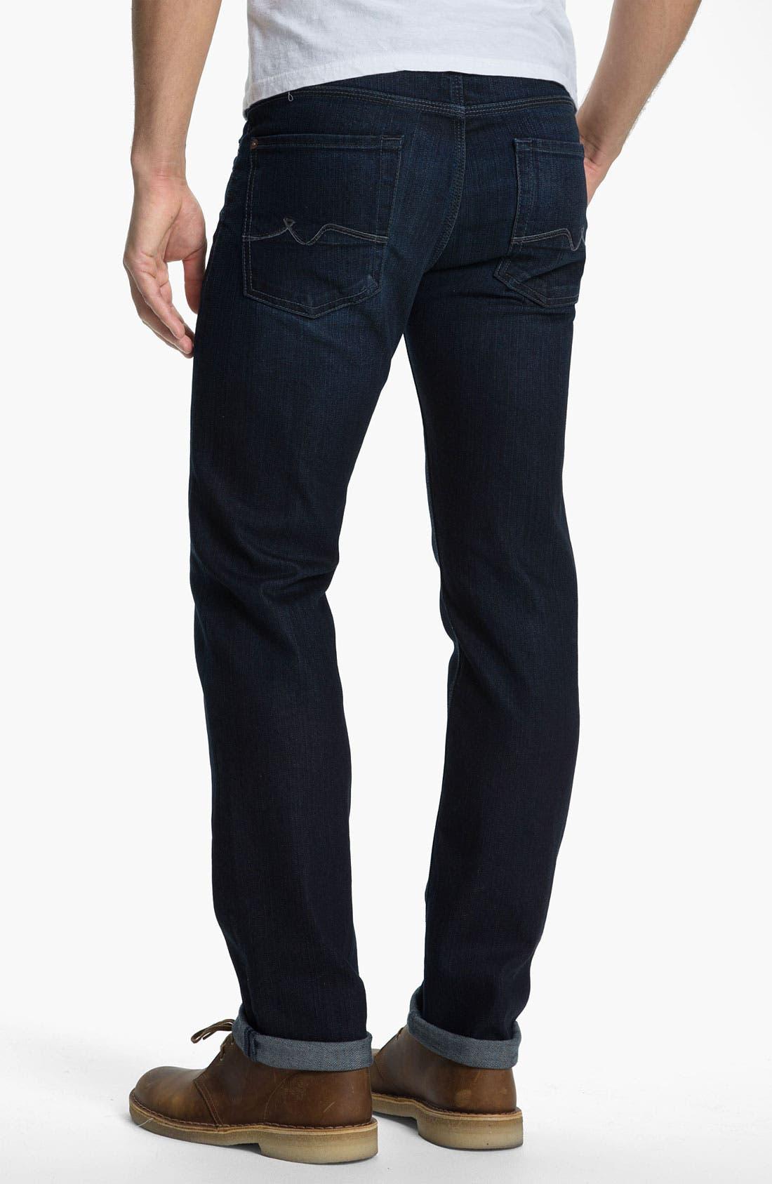 Main Image - 7 For All Mankind 'Slimmy' Slim Straight Leg Jeans (Bodega Bay)