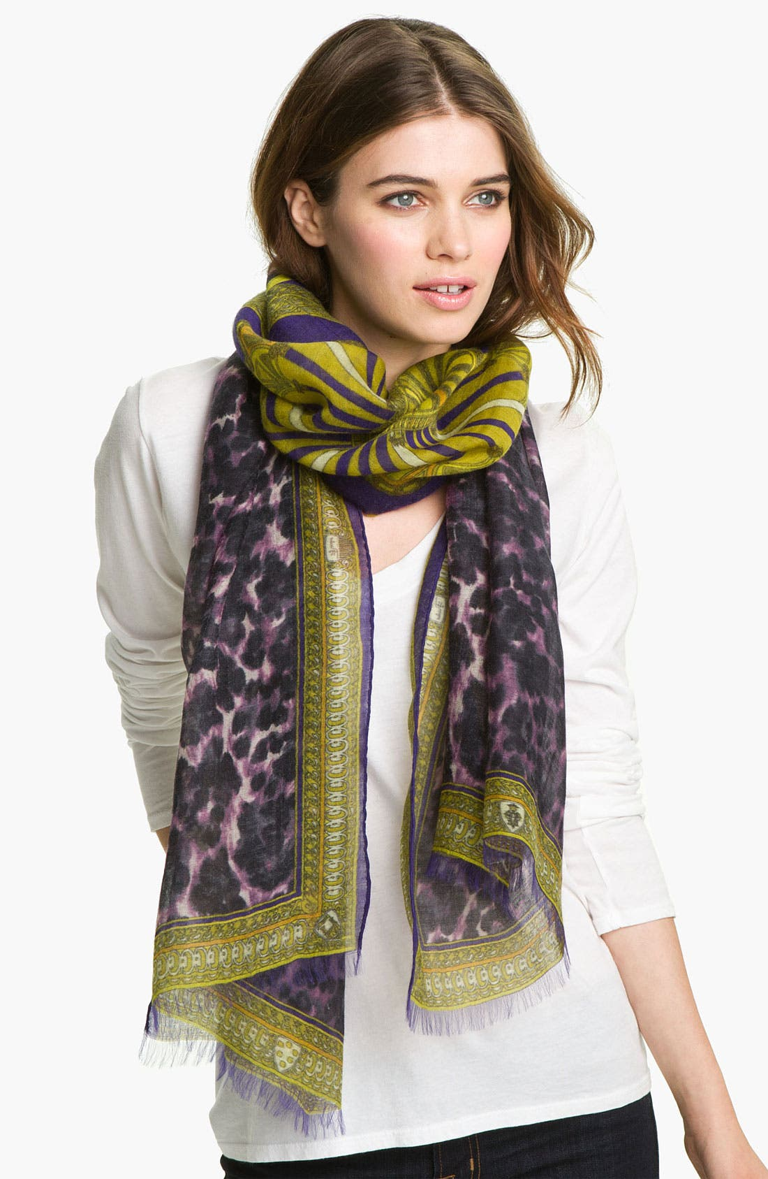 Alternate Image 1 Selected - Emilio Pucci 'Porticato' Cashmere Blend Scarf