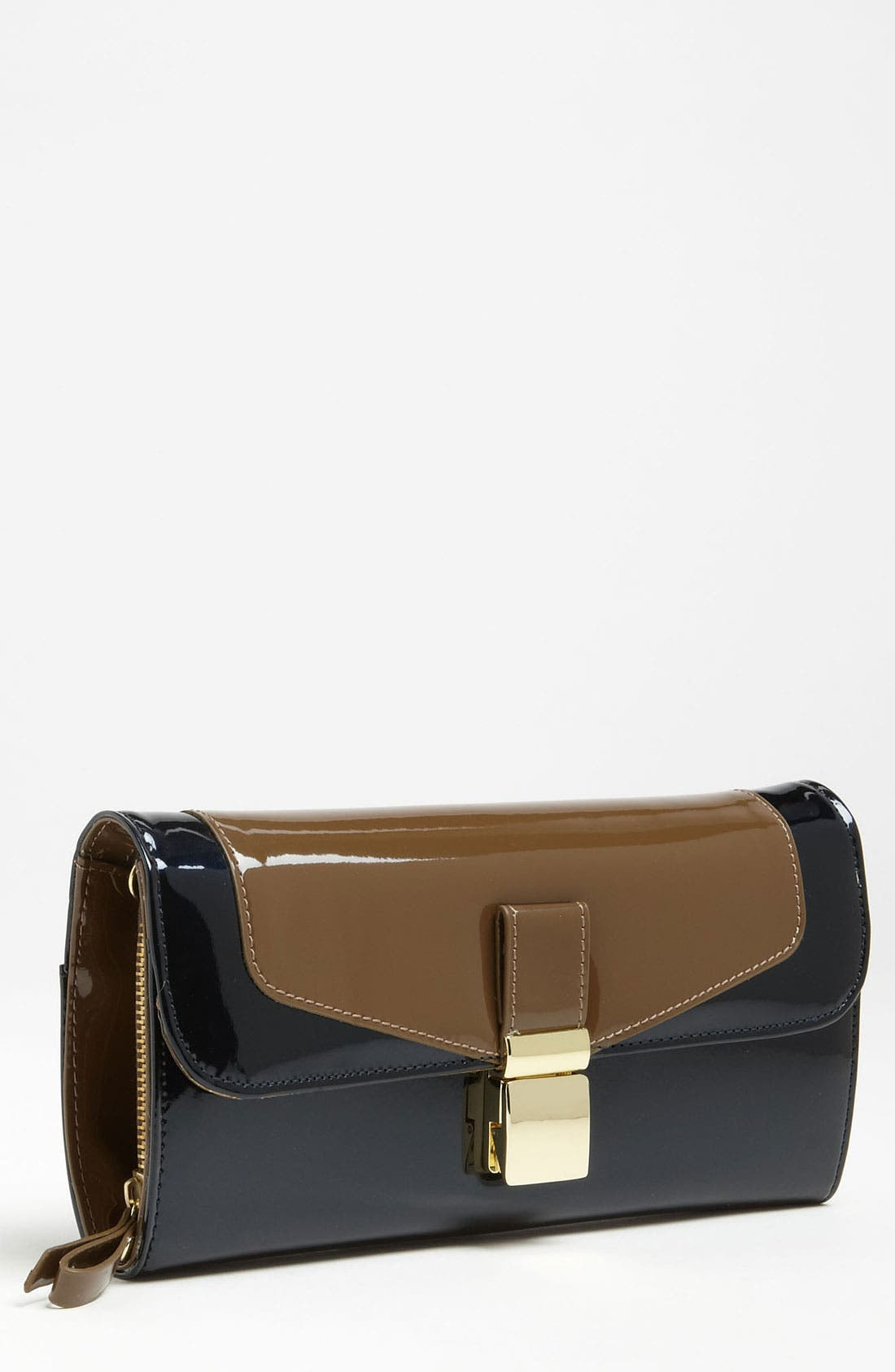 Alternate Image 1 Selected - London Fog 'Essex' Patent Clutch