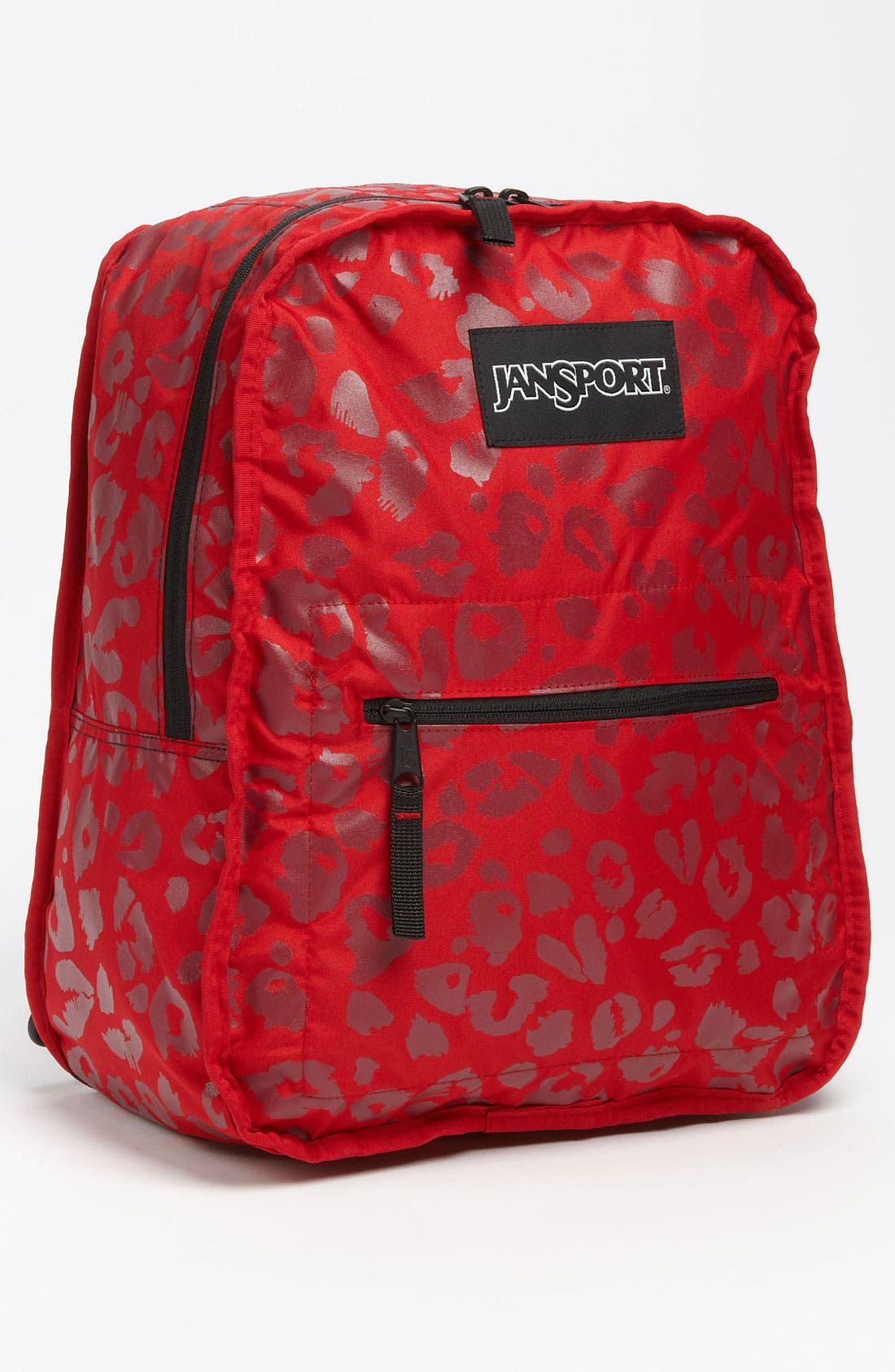 Alternate Image 2  - Jansport Animal Print Reversible Backpack