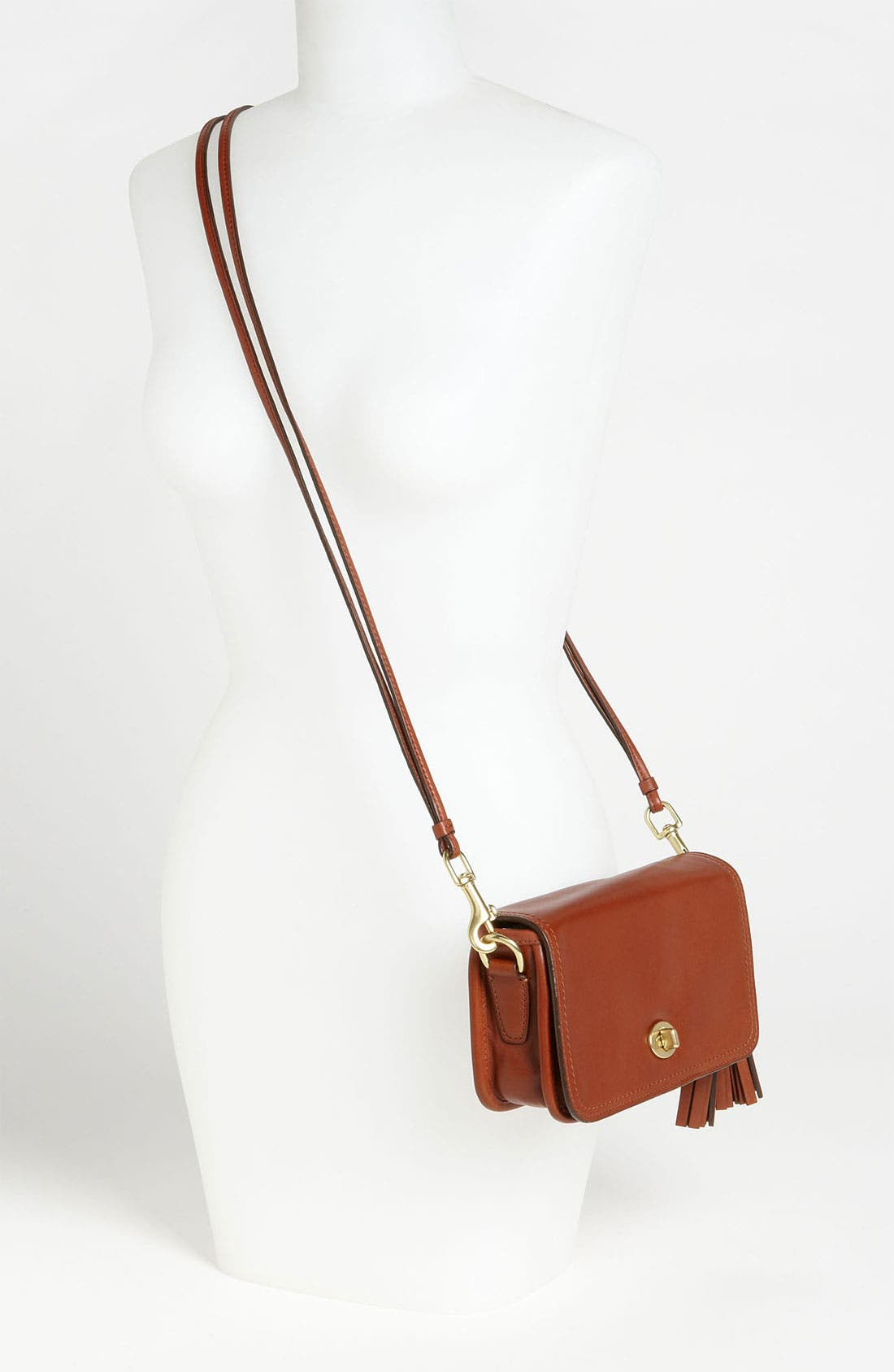 Alternate Image 2  - COACH Leather Crossbody Bag