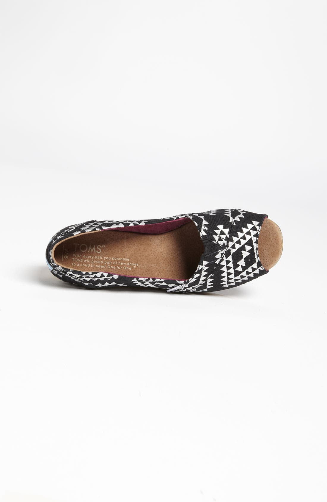 Alternate Image 3  - TOMS 'Reina' Wedge (Women)