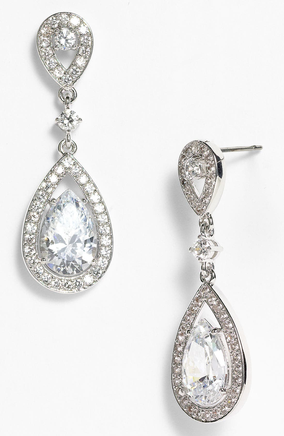 Main Image - Nadri Teardrop Drop Earrings (Nordstrom Exclusive)
