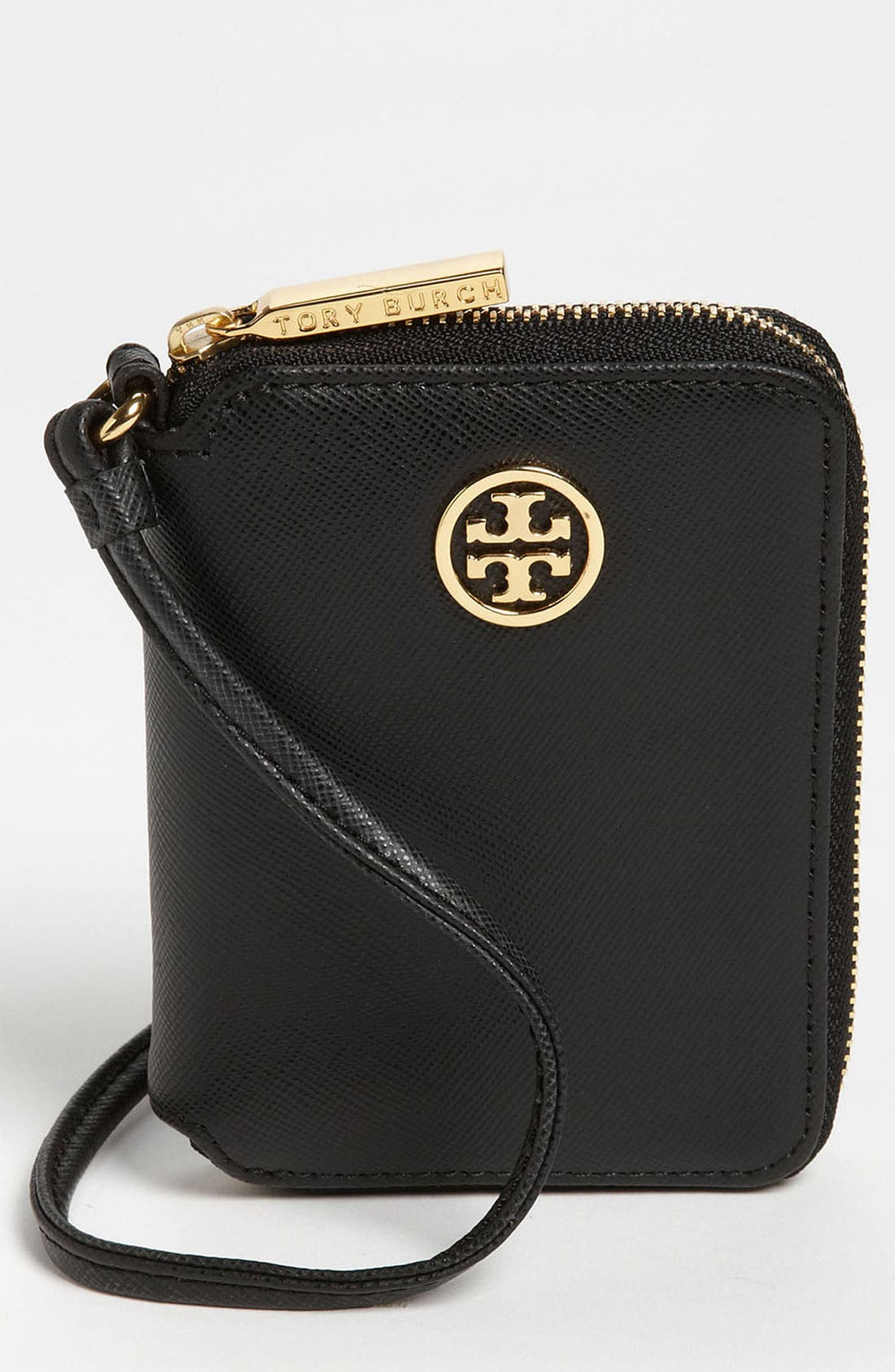 Alternate Image 1 Selected - Tory Burch 'Robinson' Zip Around French Wristlet