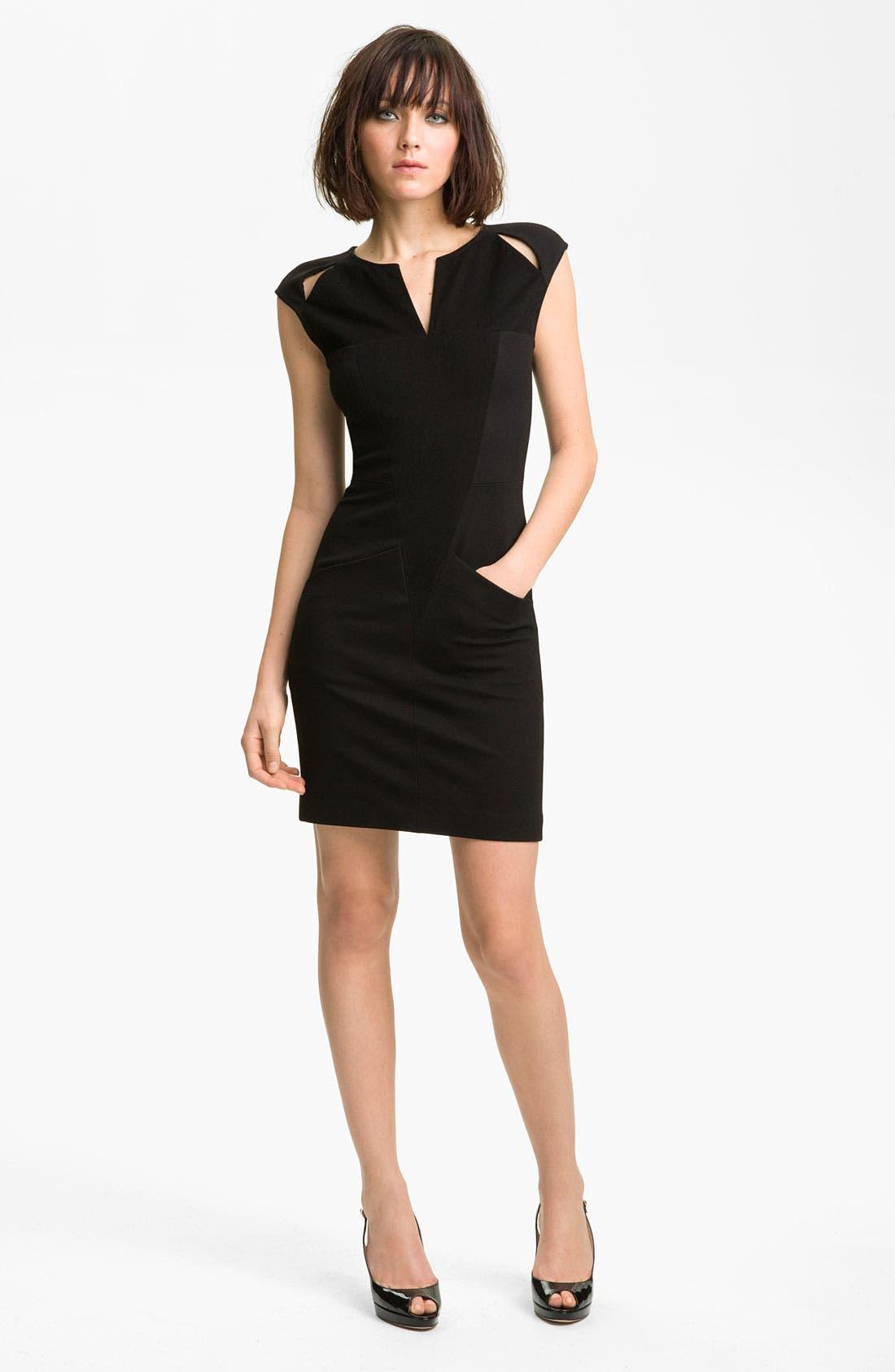 Alternate Image 1 Selected - Kelly Wearstler Sueded Twill Dress