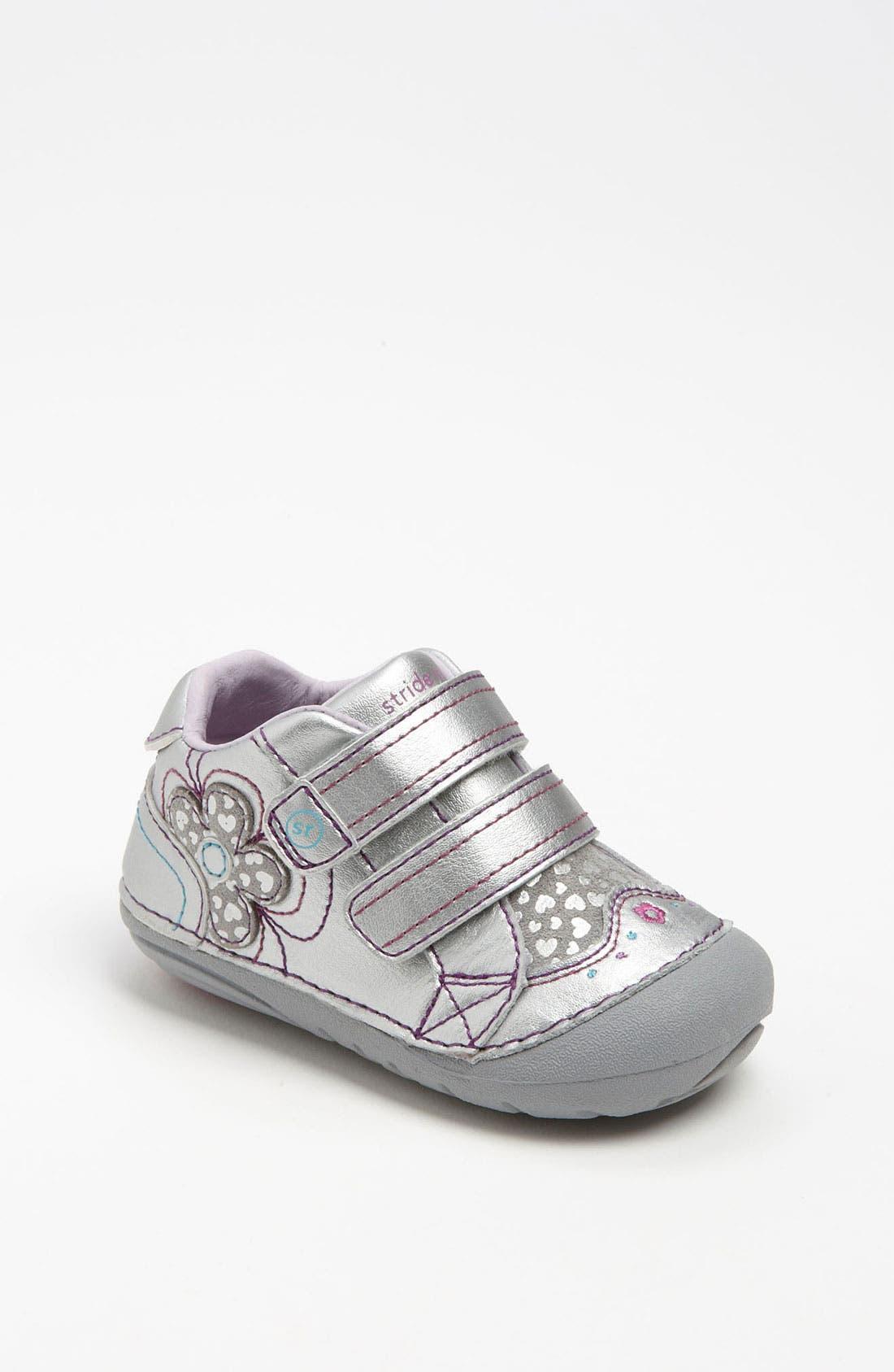 Alternate Image 1 Selected - Stride Rite 'Gloria' Sneaker (Baby & Walker)