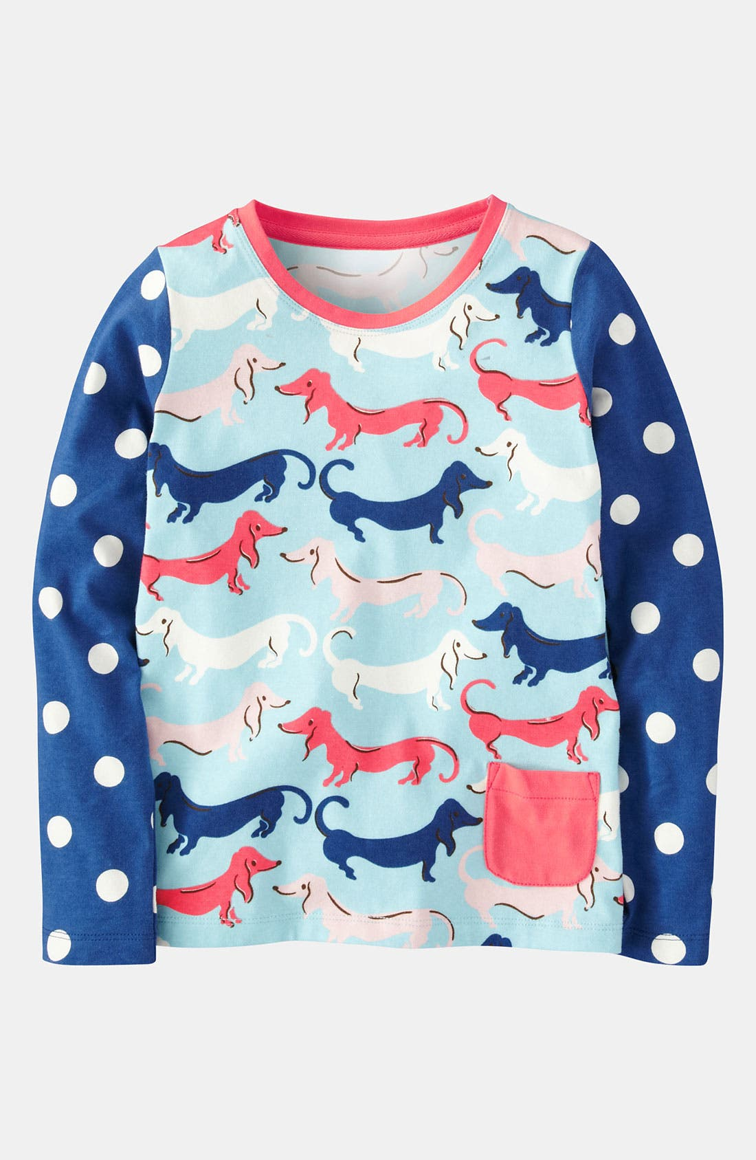 Alternate Image 1 Selected - Mini Boden 'Hotchpotch' Tee (Toddler)