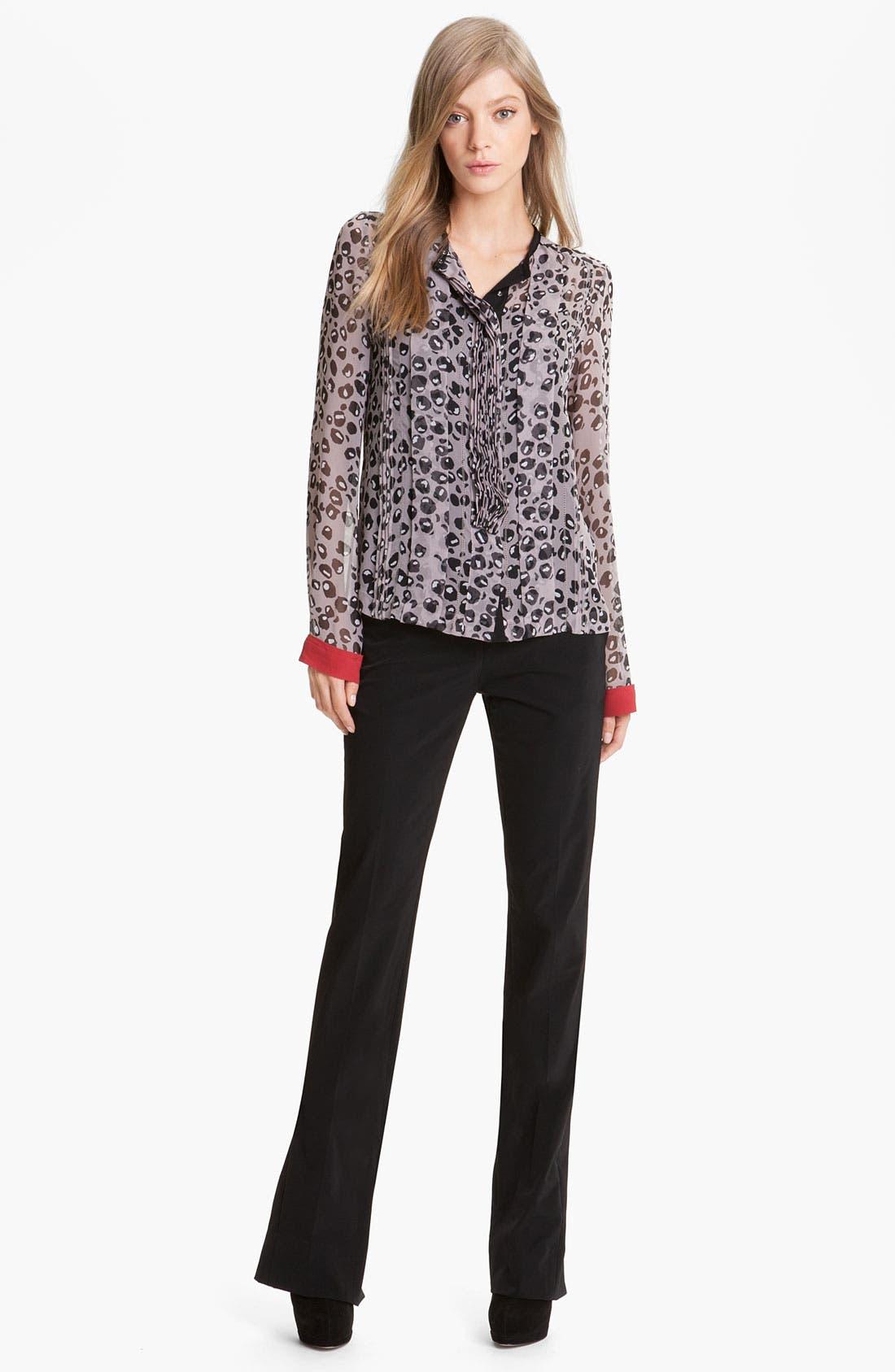 Alternate Image 3  - Diane von Furstenberg 'Annabelle' Zip Hem Pants