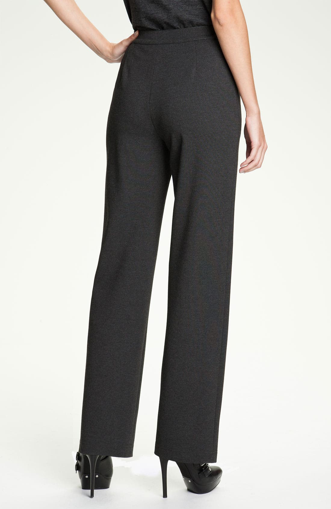 Alternate Image 2  - Lafayette 148 New York Straight Leg Punto Milano Pants