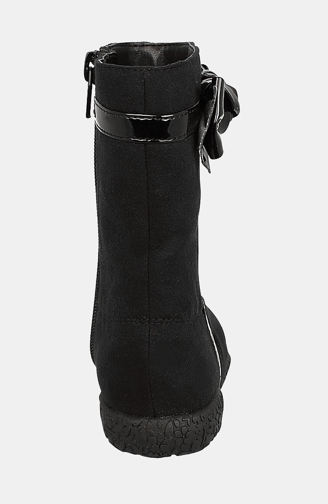 'Rosabel' Boot,                             Alternate thumbnail 2, color,                             Black/ Black