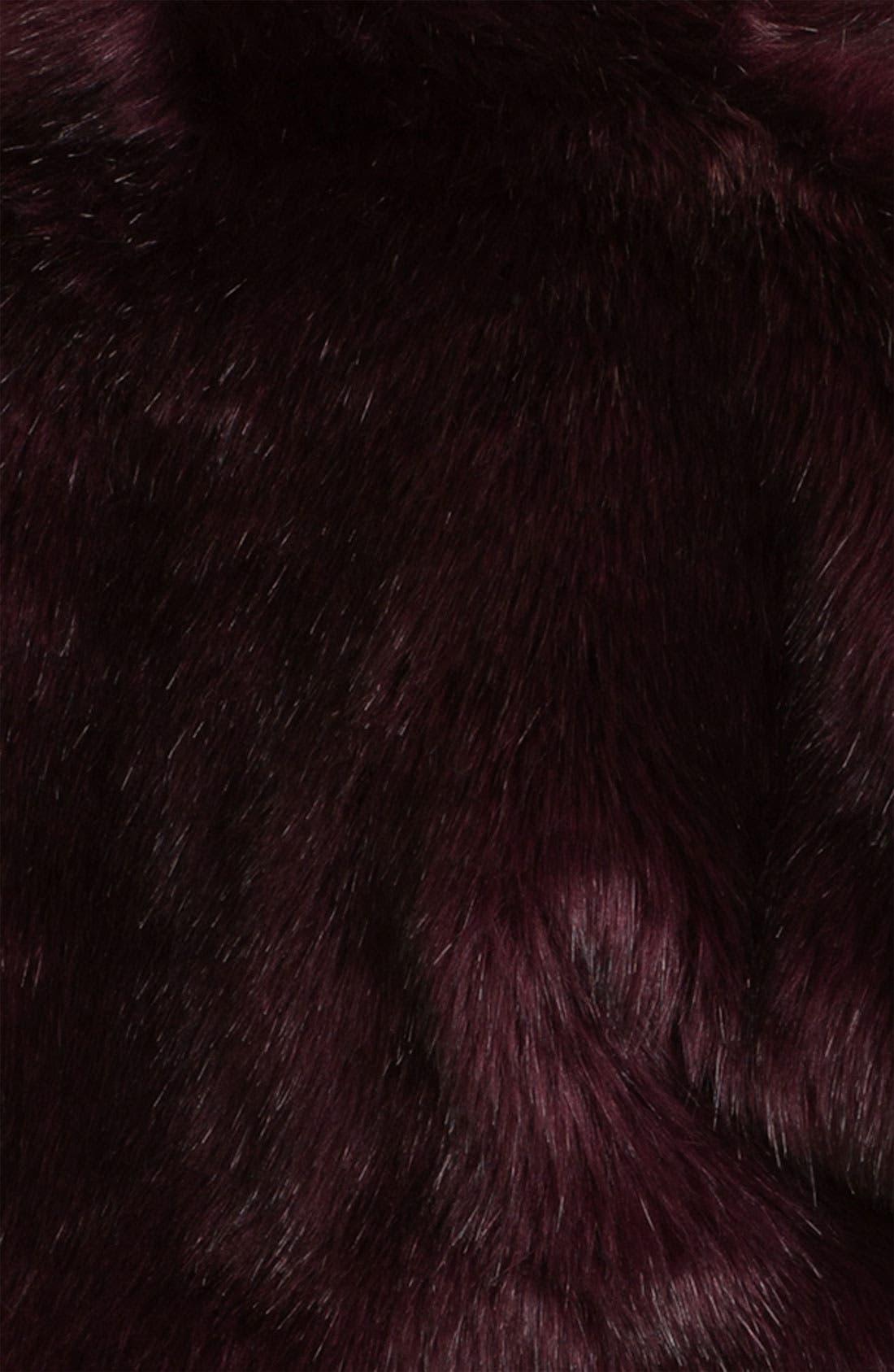 Alternate Image 3  - Eliza J Faux Fur Open Bolero