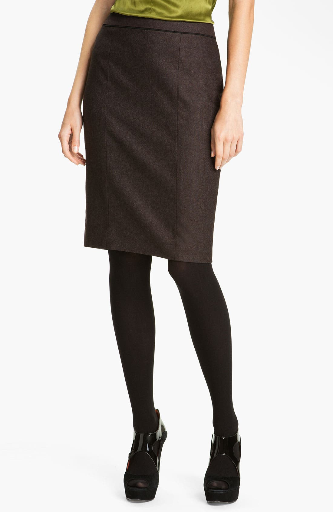 Alternate Image 1 Selected - Classiques Entier® 'Stella Weave' Skirt