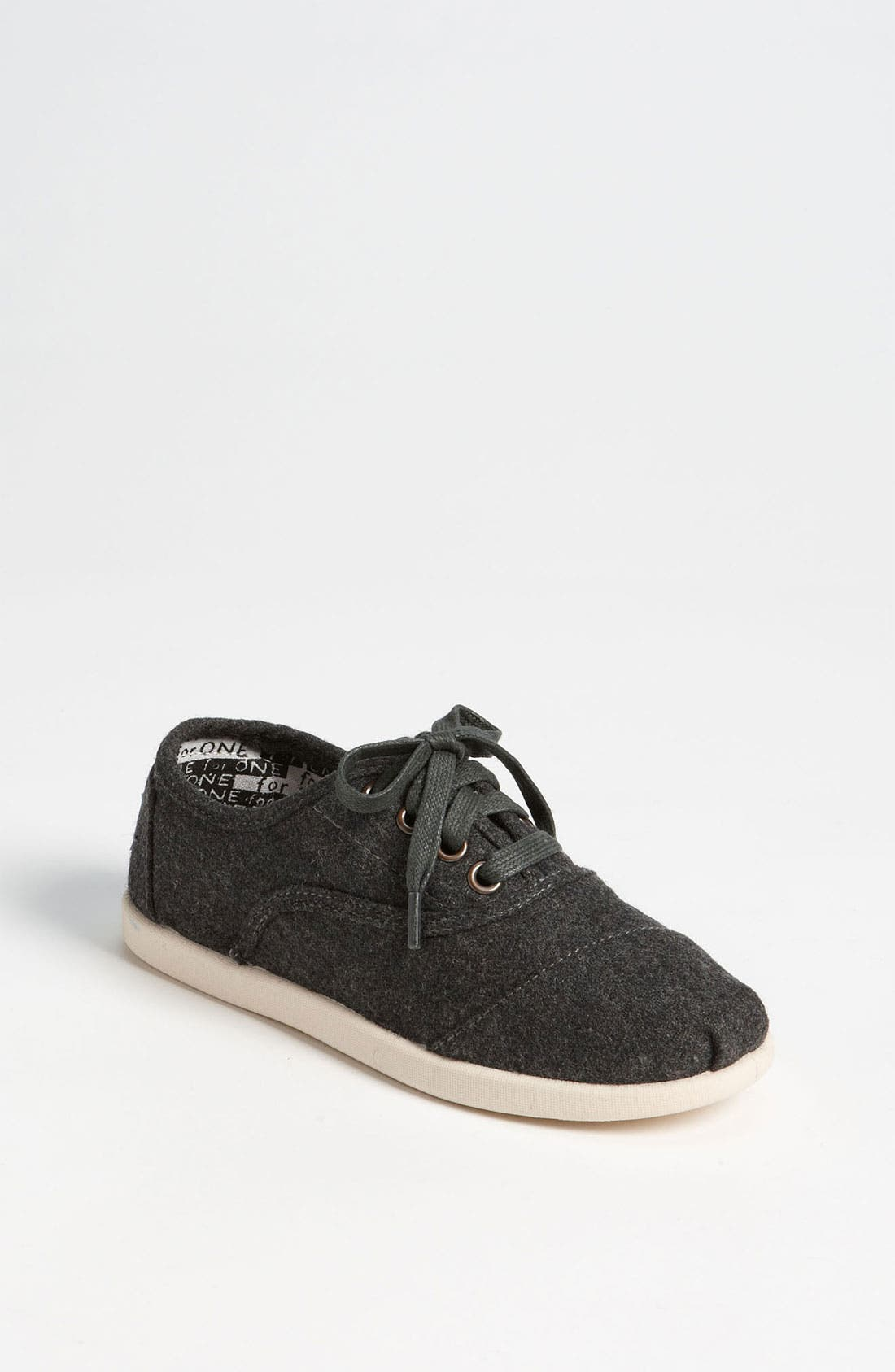 Main Image - TOMS 'Cordones - Youth' Slip-On (Toddler, Little Kid & Big Kid)