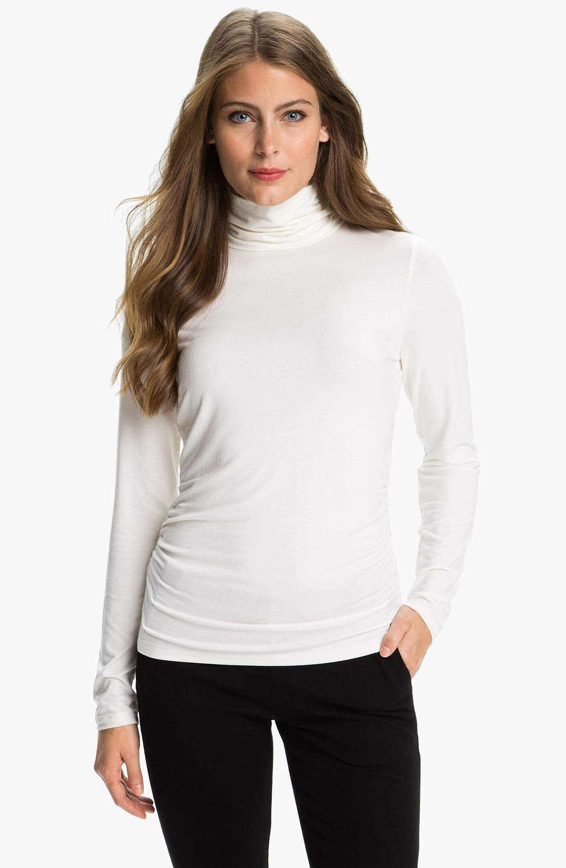 Main Image - Chaus Scrunch Neck Top