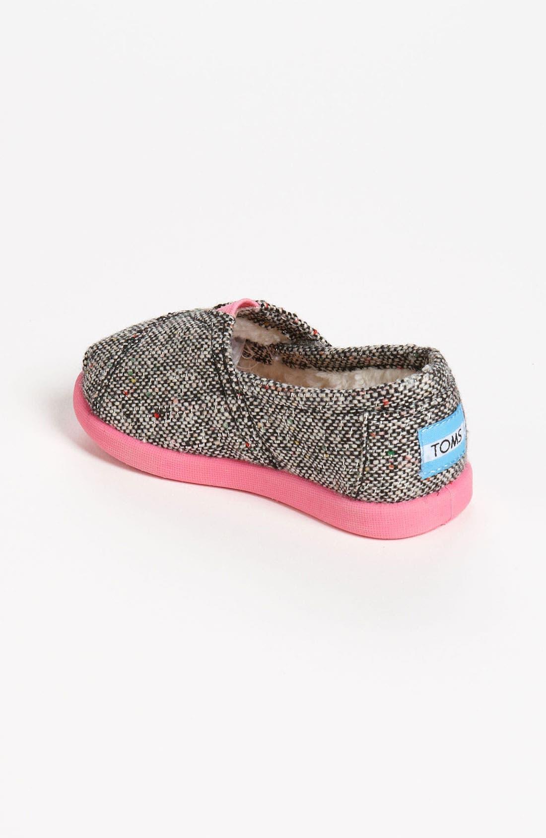 Alternate Image 2  - TOMS 'Classic Tiny - Karsen' Slip-On (Baby, Walker & Toddler)