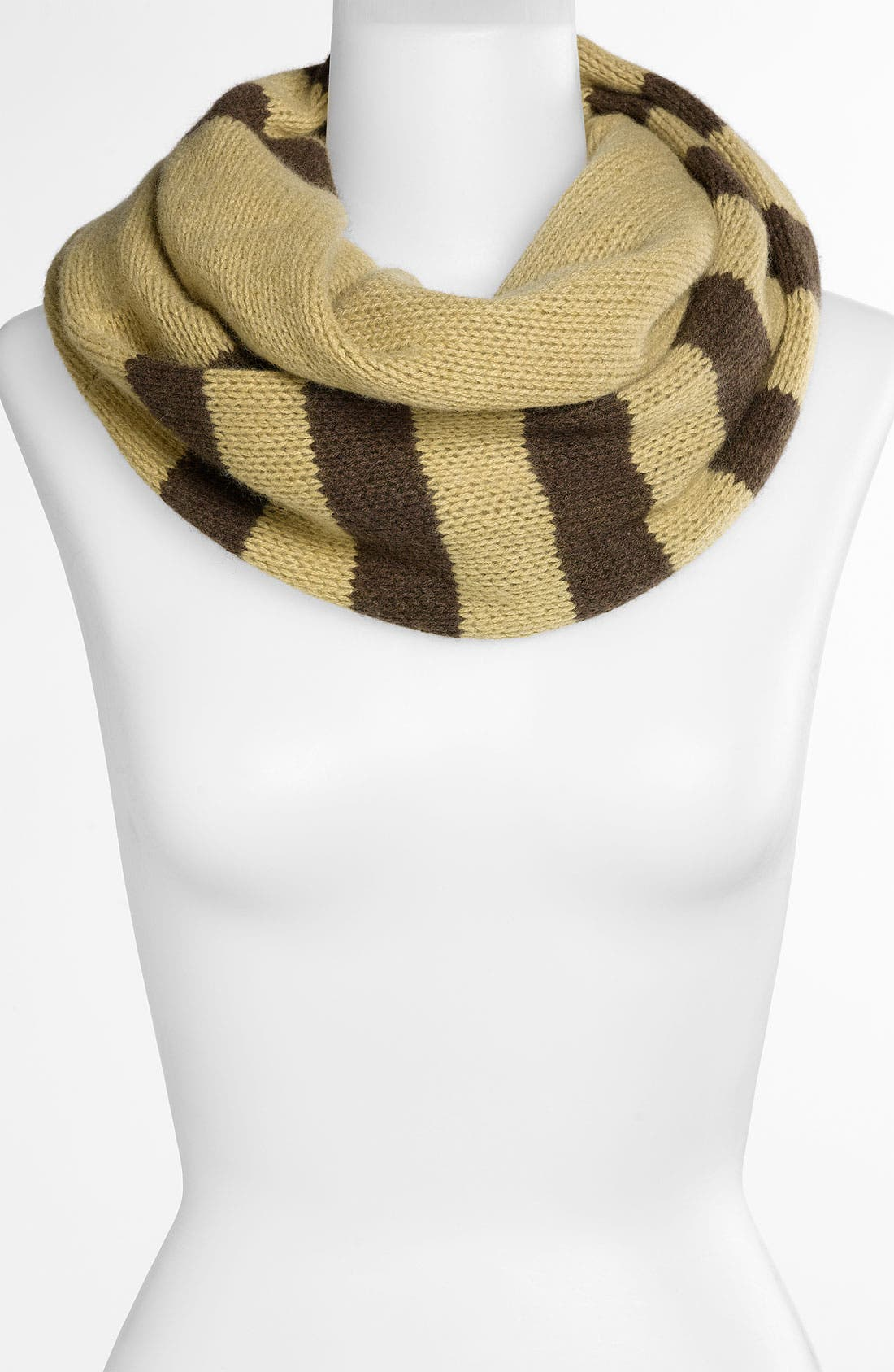 Alternate Image 1 Selected - Nordstrom Rugby Stripe Cashmere Infinity Scarf